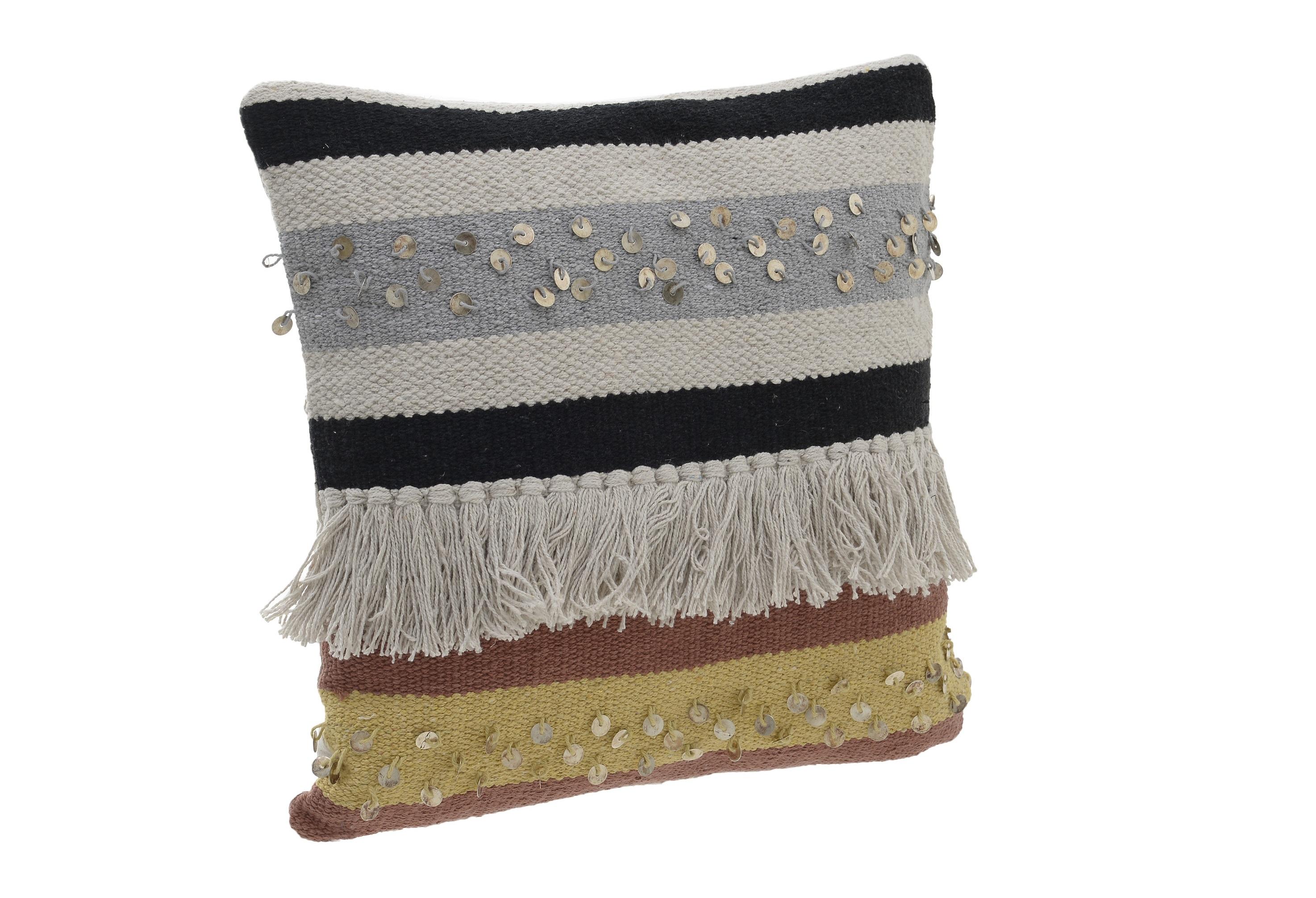 Подушка LynnКвадратные подушки и наволочки<br><br><br>Material: Текстиль<br>Ширина см: 45<br>Высота см: 45<br>Глубина см: 7