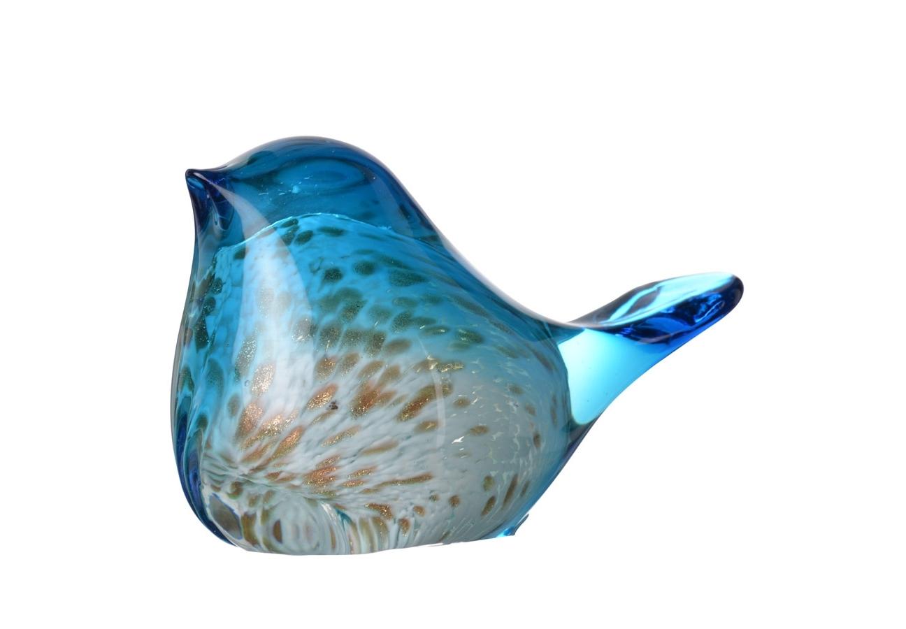 Декоративная птица AxeСтатуэтки<br><br><br>Material: Стекло<br>Ширина см: 12<br>Высота см: 6<br>Глубина см: 7