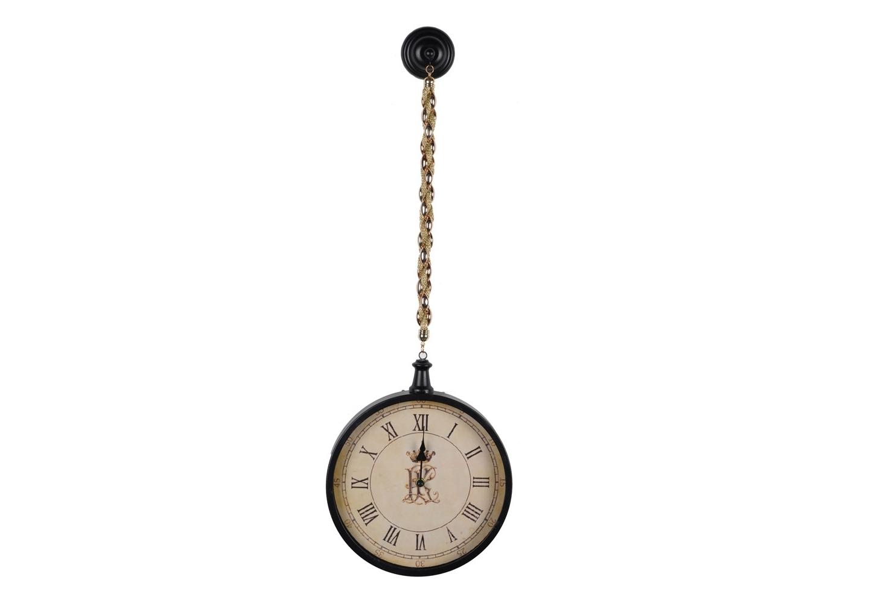 Часы RoyalНастенные часы<br>Металлические подвесные часы. Стильный аксессуар легко дополнит интерьер любого помещения, будь то жилой дом, салон красоты, фотостудия или офис.<br><br>Material: Металл<br>Высота см: 75