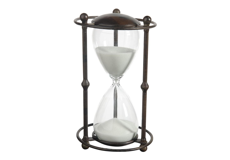 Часы песочные WhiteНастольные часы<br>Элегантные песочные часы выполнены из стекла и металла. Отличный подарок не только для коллекционеров, но и для всех, кто любит оригинальные и красивые вещи.&amp;lt;div&amp;gt;&amp;lt;br&amp;gt;&amp;lt;/div&amp;gt;&amp;lt;div&amp;gt;Материал: стекло, песок, металл&amp;lt;br&amp;gt;&amp;lt;/div&amp;gt;<br><br>Material: Металл<br>Ширина см: 16<br>Высота см: 32<br>Глубина см: 16