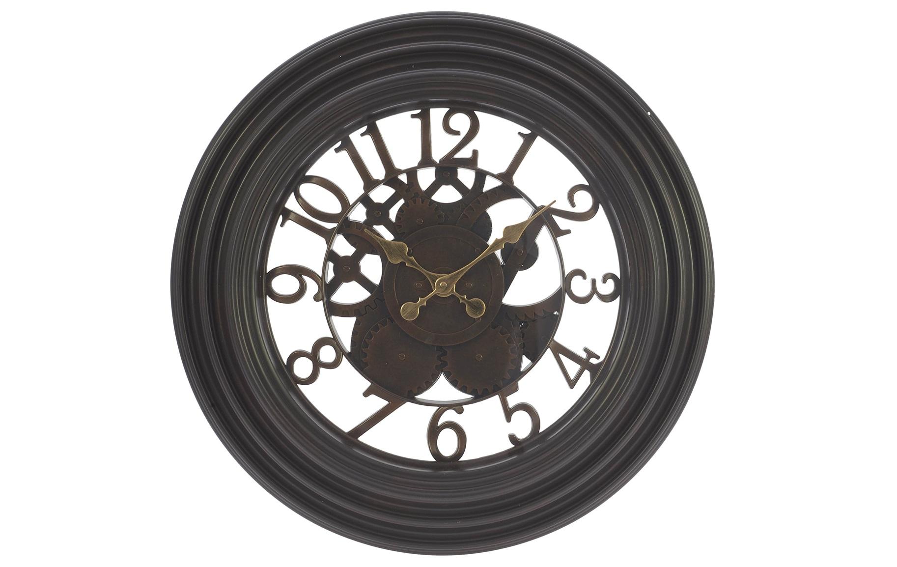 Настенные часы AshleyНастенные часы<br>Кварцевый механизм.<br><br>Material: Пластик<br>Глубина см: 7
