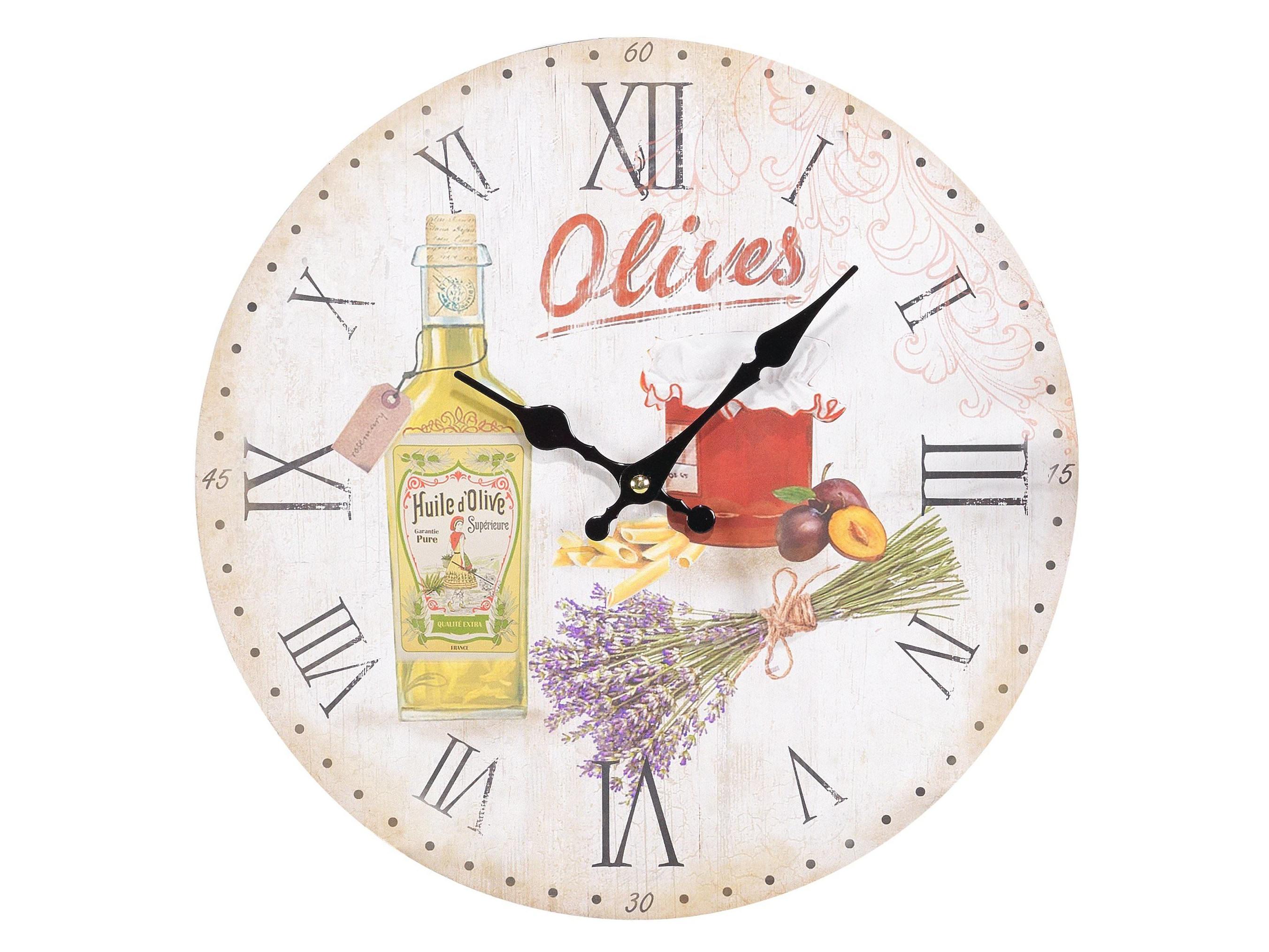 Часы настенные KellanНастенные часы<br>Кварцевый механизм.<br><br>Material: МДФ<br>Ширина см: 34.0<br>Высота см: 34.0<br>Глубина см: 4.0