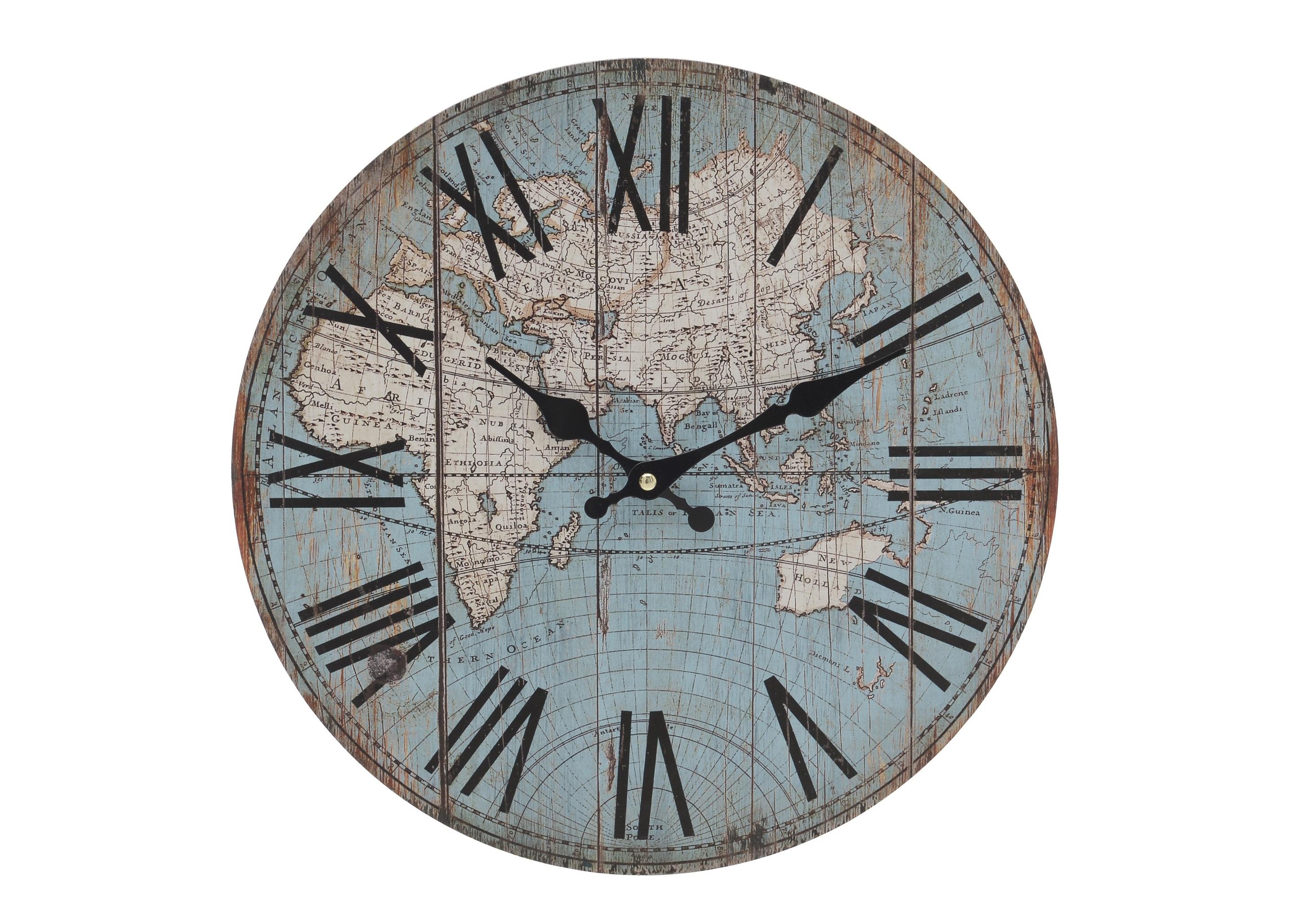 Часы настенные PetroНастенные часы<br>Кварцевый механизм.<br><br>Material: МДФ<br>Глубина см: 4