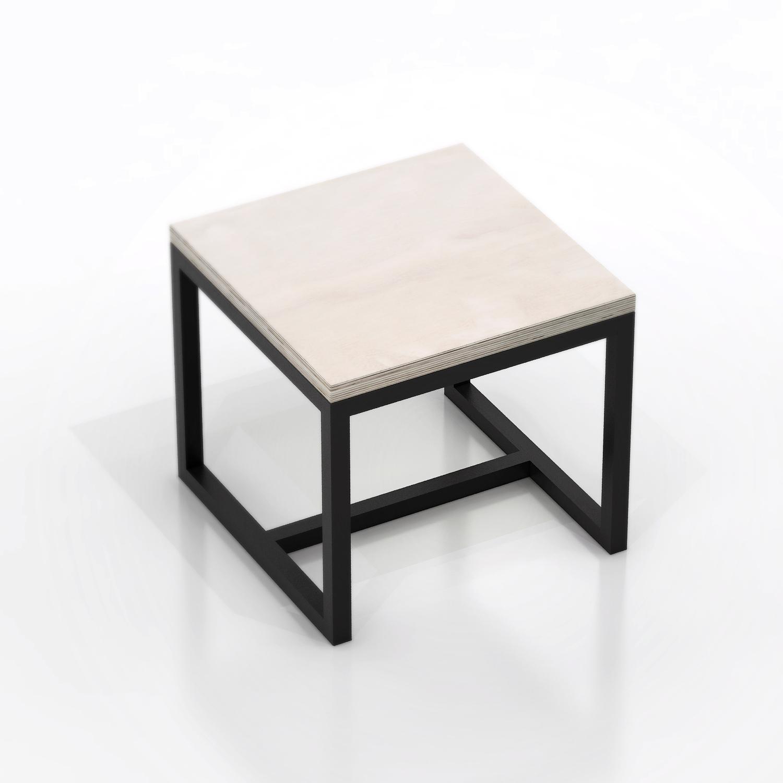 Стол журнальный MetalframeЖурнальные столики<br>Материал: березовая фанера 3 см, стальная труба 3х3 см. На основание крепится мебельный войлок.&amp;lt;div&amp;gt;&amp;lt;br&amp;gt;&amp;lt;/div&amp;gt;&amp;lt;div&amp;gt;Возможно изготовление любых размеров, стоимость необходимо уточнять.&amp;lt;/div&amp;gt;&amp;lt;div&amp;gt;Ширина: 50-140 см, глубина:500-110 см, высота: 45 см.&amp;lt;/div&amp;gt;<br><br>Material: Фанера<br>Ширина см: 50<br>Высота см: 45<br>Глубина см: 50