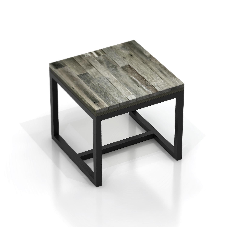 Стол журнальный Metalframe oldwoodЖурнальные столики<br>Материал: березовая фанера, старая доска, стальная труба 3х3 см. На основание крепится мебельный войлок.Возможно изготовление любых размеров, стоимость необходимо уточнять.Ширина: 50-140 см, глубина: 50-110 см, высота: 46 см.