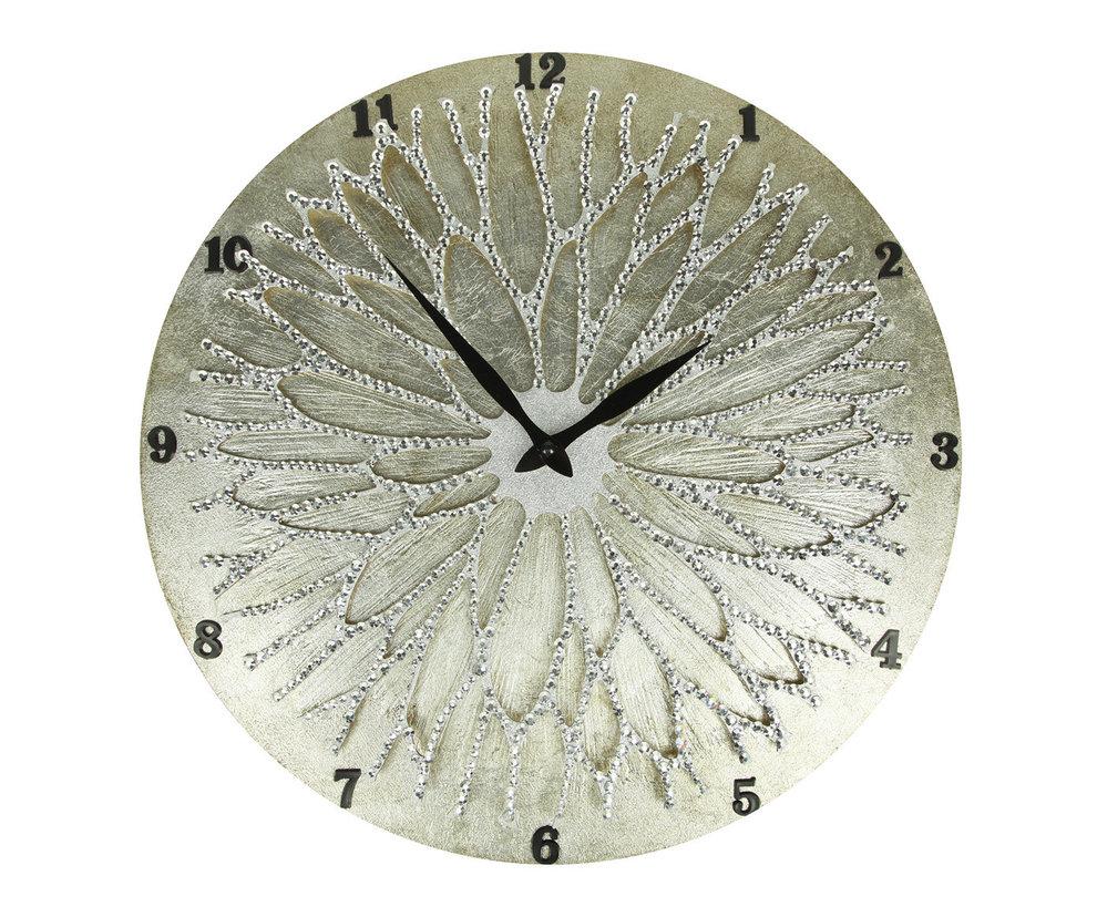 Настенные часы ЦветокНастольные часы<br>&amp;lt;div&amp;gt;Настенные часы коллекции «Цветок» - подлинное произведение искусства. Они преобразят абсолютно любой интерьер, создадут гармонию, наделят помещение изысканностью, и заставят на стене расцвести роскошный райский цветок. Создается ощущение, что при создании не обошлось без пыльцы фей: настолько волшебно переливается покрытие из страз.Настенные часы коллекции «Цветок» способны стать идеальным подарком. Их выбирают на все торжественные случаи жизни, а также – когда нужно преподнести что-то роскошное и выполненное с изысканным вкусом.&amp;amp;nbsp;&amp;lt;/div&amp;gt;&amp;lt;div&amp;gt;&amp;lt;br&amp;gt;&amp;lt;/div&amp;gt;&amp;lt;div&amp;gt;Кварцевый часовой механизм.&amp;lt;/div&amp;gt;<br><br>Material: Дерево