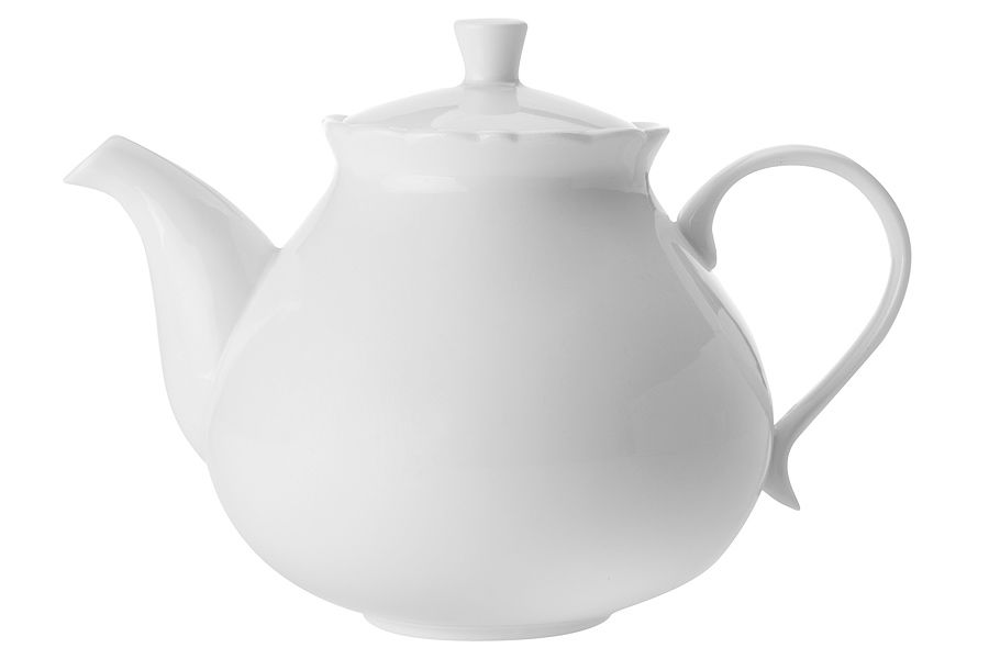 Чайник Белая розаЧайники<br><br><br>Material: Фарфор