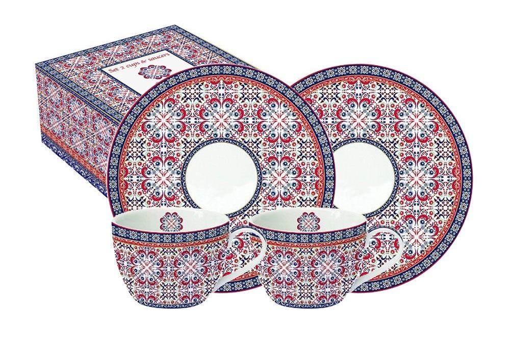 Набор Мавритания (2шт)Чайные пары, чашки и кружки<br><br><br>Material: Фарфор