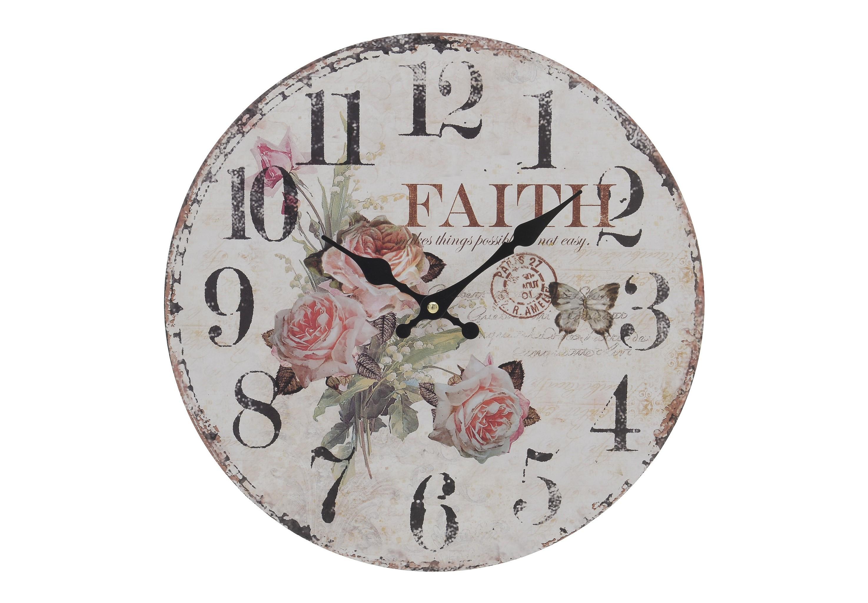 Часы настенные AmalНастенные часы<br>Кварцевый механизм.<br><br>Material: МДФ