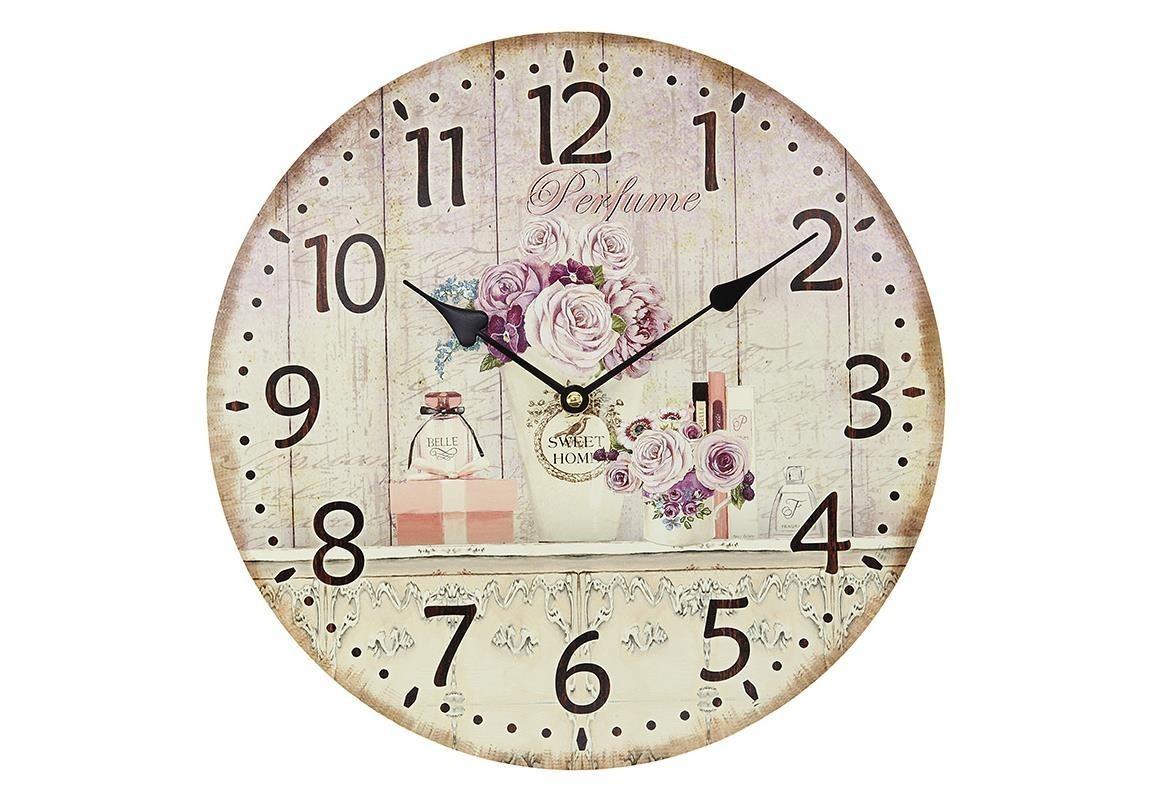Часы настенные KlaodaНастенные часы<br>Кварцевый механизм.<br><br>Material: МДФ<br>Ширина см: 34<br>Высота см: 34<br>Глубина см: 4