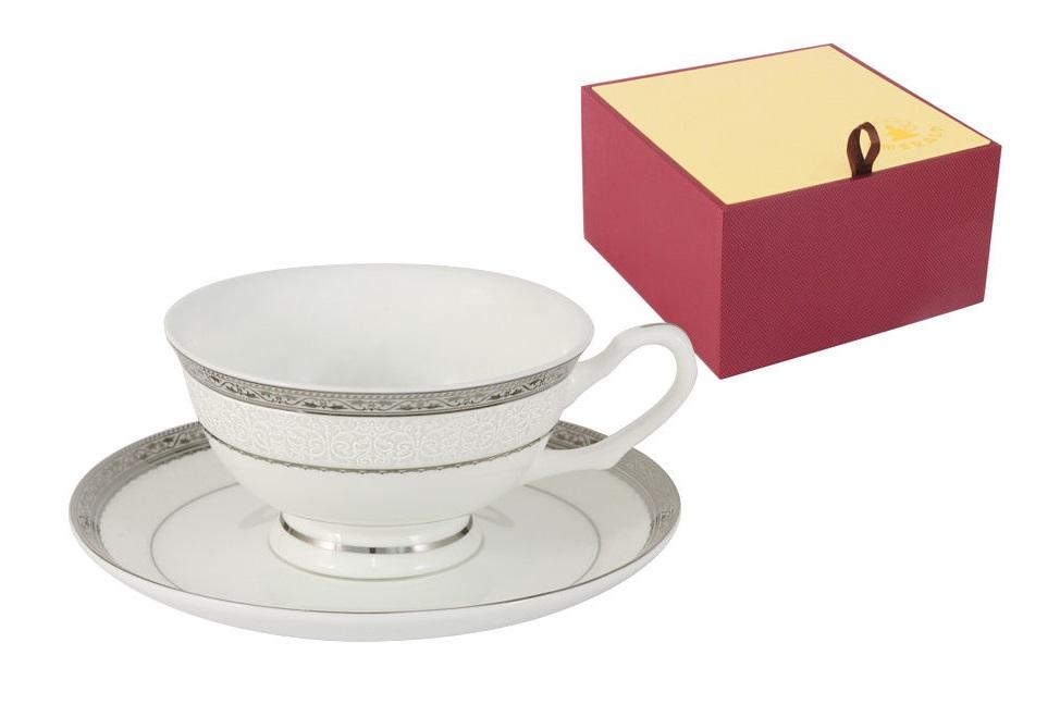 Чашка с блюдцем БостонЧайные пары, чашки и кружки<br><br><br>Material: Фарфор