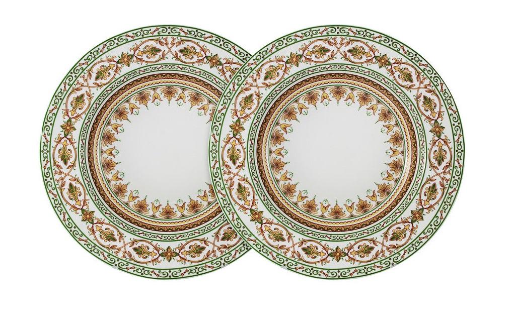 Набор суповых тарелок Надин (2шт)Тарелки<br><br><br>Material: Фарфор