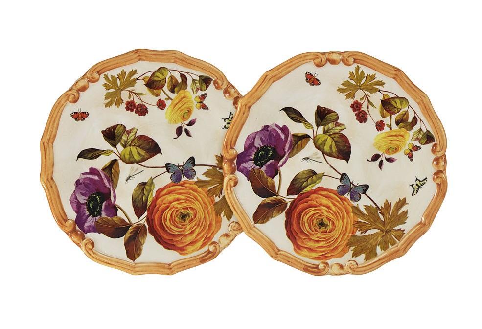 Набор десертных тарелок Элеганс (2шт)Тарелки<br><br><br>Material: Керамика