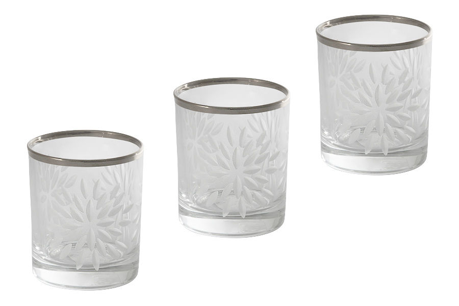 Набор стопок для водки Умбрия Матовая - платина (6шт)Рюмки<br><br><br>Material: Хрусталь