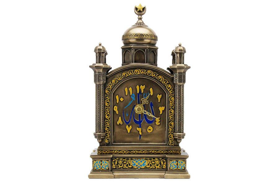 Часы каминные АрабескаНастольные часы<br>Кварцевый механизм.<br><br>Material: Полистоун