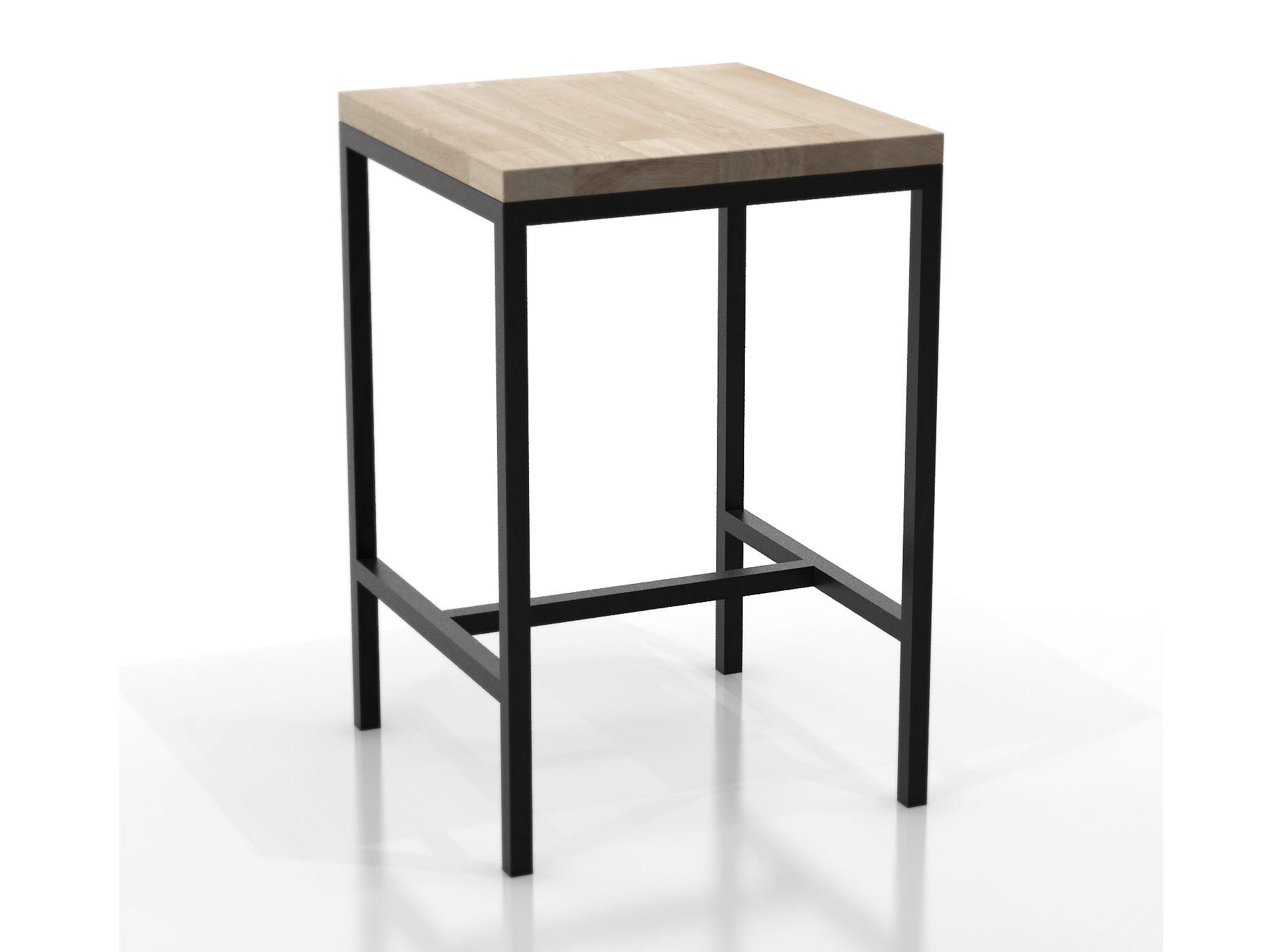 Стол барный Metalframe oakБарные столы<br>Материал: дубовый мебельный щит, стальная труба 3 х 3 см. На основание крепится мебельный войлок.Возможно изготовление любых размеров, стоимость необходимо уточнять.Ширина: 60-300 см, глубина: 60-100 см, высота: 91/101/111/121 см.<br><br>kit: None<br>gender: None