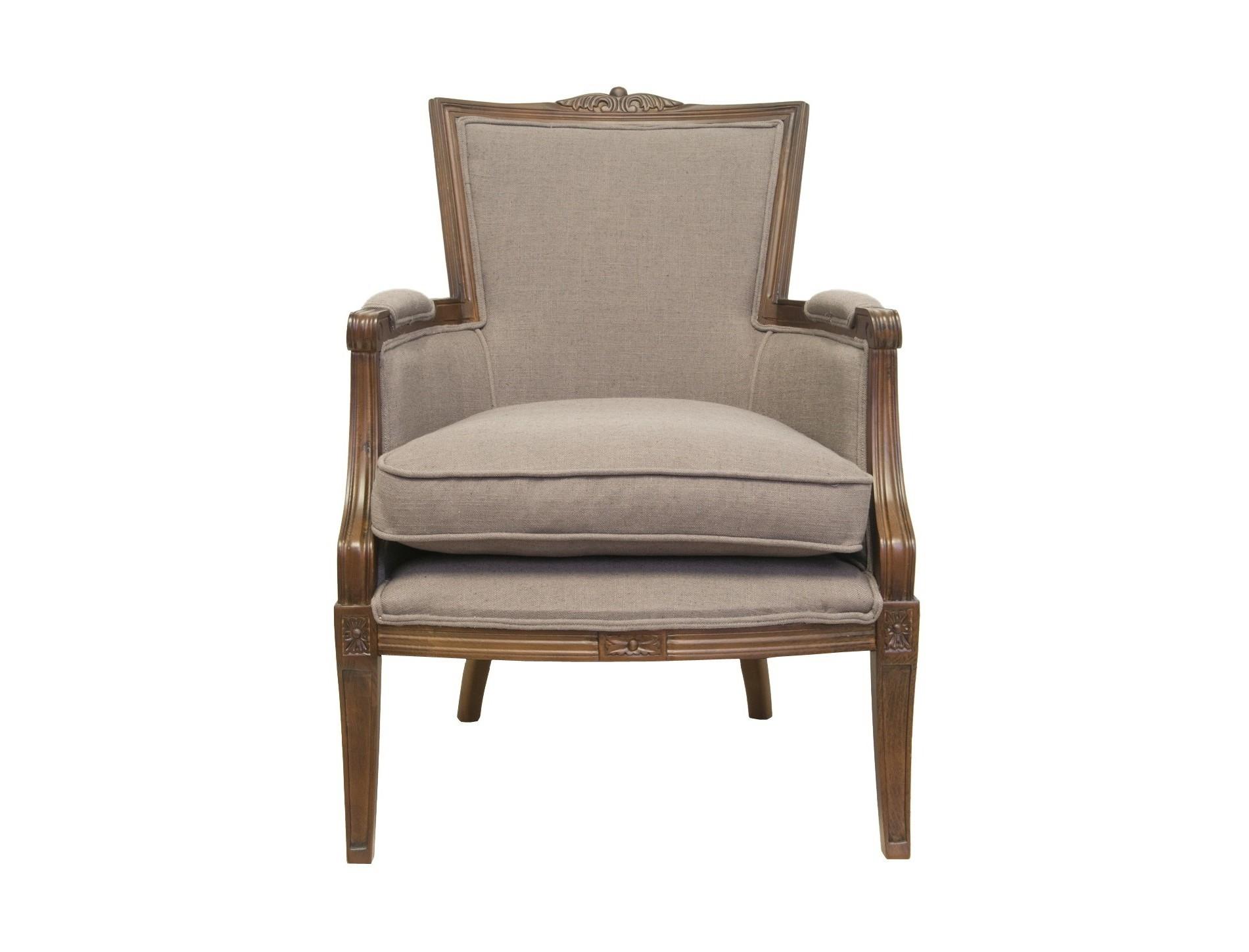 Кресло TousИнтерьерные кресла<br>Резные элементы и нейтральный цвет обивки делает кресло Tous &amp;amp;nbsp;ярким представителем классического стиль. Это роскошное, грациозное кресло сделает ваш интерьер более статусным и видным.&amp;amp;nbsp;<br><br>Material: Текстиль<br>Ширина см: 65<br>Высота см: 91<br>Глубина см: 76