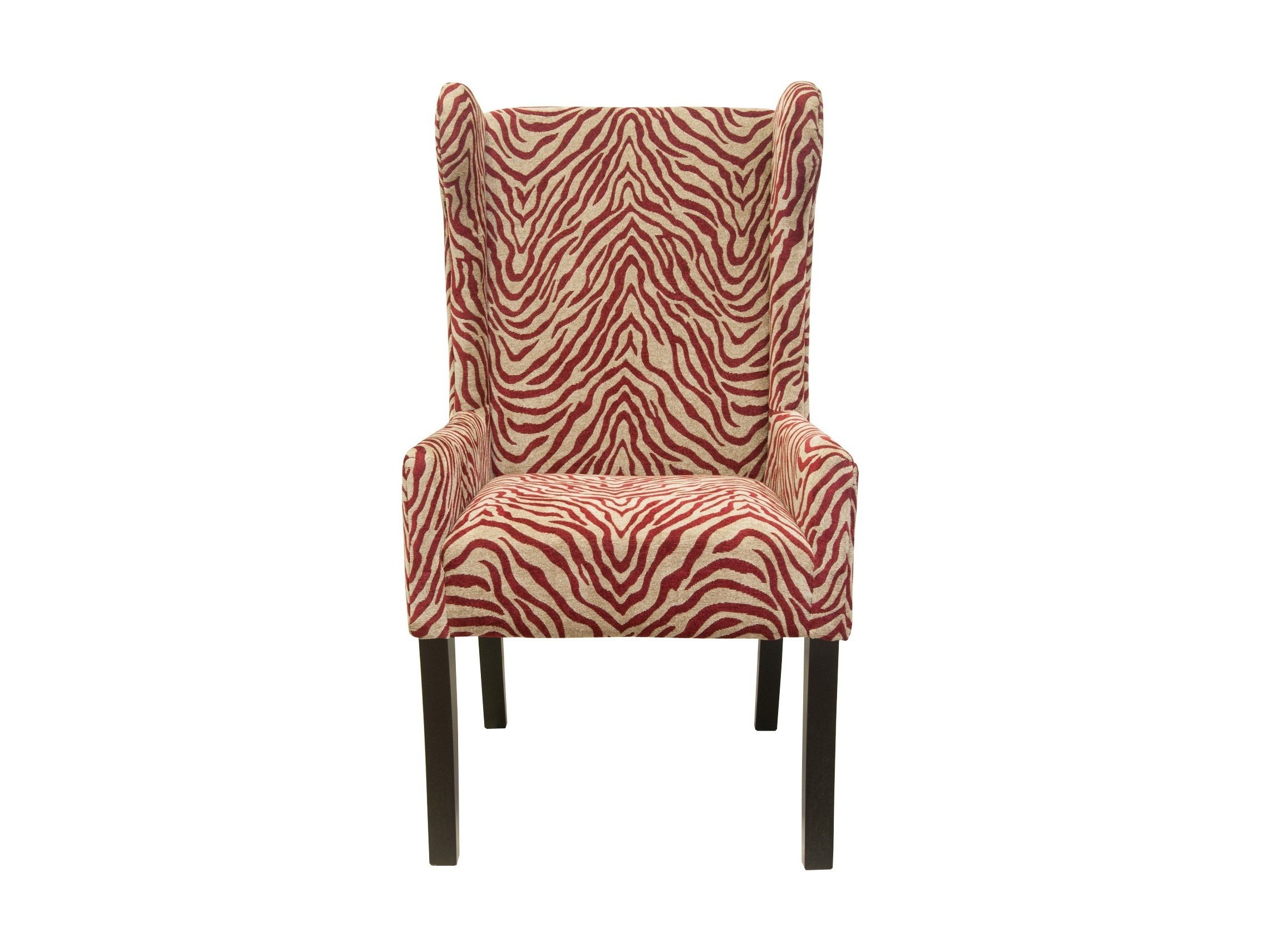 Кресло ZebraКресла с высокой спинкой<br>Яркое, полосатое кресло просто создано для любителей современного интерьера. Такое кресло придаст энергичную и динамичную атмосферу вашему интерьеру. &amp;amp;nbsp; &amp;amp;nbsp;<br><br>Material: Текстиль<br>Ширина см: 62<br>Высота см: 112<br>Глубина см: 62