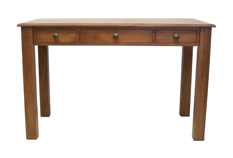 Стол FritzПисьменные столы<br>Письменный стол Fritz это воплощение благородной красоты и изящества. Этот стол выполнен из натурального дерева, его цветовое решение позволит гармонично дополнить &amp;amp;nbsp;интерьер кабинета или спальни в вашем доме или квартире. Его классические формы и цвет позволит долго радовать взгляд своих хозяев.&amp;amp;nbsp;<br><br>Material: Дуб<br>Ширина см: 120<br>Высота см: 75<br>Глубина см: 60