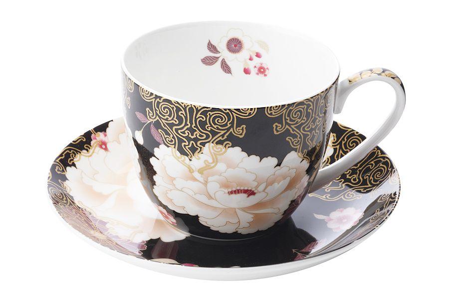 Чашка с блюдцем КимоноЧайные пары, чашки и кружки<br><br><br>Material: Фарфор