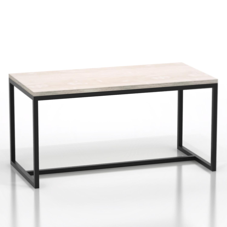 Стол рабочий MetalframeПисьменные столы<br>Материал: березовая фанера 3 см, стальная труба 3 х 3 см. На основание крепится мебельный войлок.&amp;lt;div&amp;gt;&amp;lt;br&amp;gt;&amp;lt;/div&amp;gt;&amp;lt;div&amp;gt;Возможно изготовление любых размеров, стоимость необходимо уточнять.&amp;lt;/div&amp;gt;&amp;lt;div&amp;gt;Ширина: 100-240 см, глубина: 50-80 см, высота: 75 см.&amp;lt;/div&amp;gt;<br><br>Material: Фанера<br>Ширина см: 100<br>Высота см: 75<br>Глубина см: 50