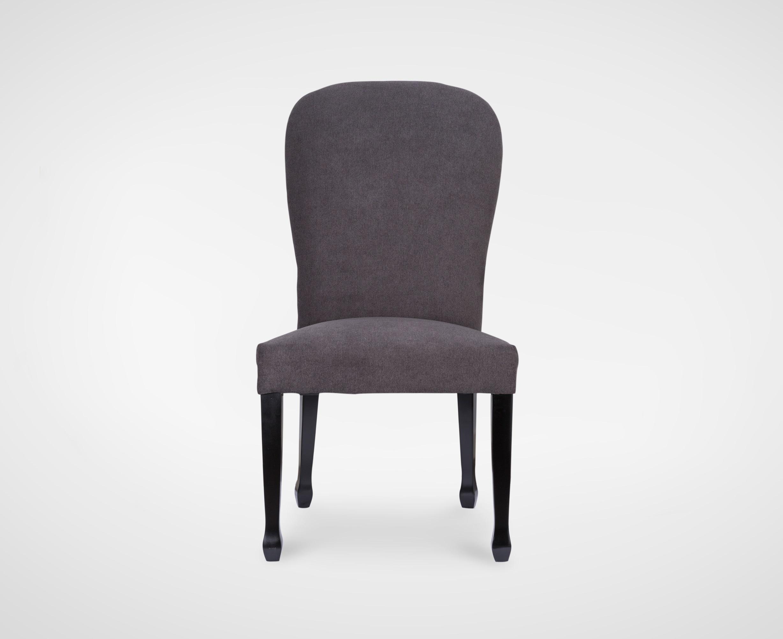 Стул обеденныйОбеденные стулья<br>Стул обеденный,с мягкой высокой спинкой,без полокотников,с металлическим кольцом на спинке, ножки из натурального дерева.<br><br>Material: Текстиль<br>Ширина см: 64<br>Высота см: 68<br>Глубина см: 60