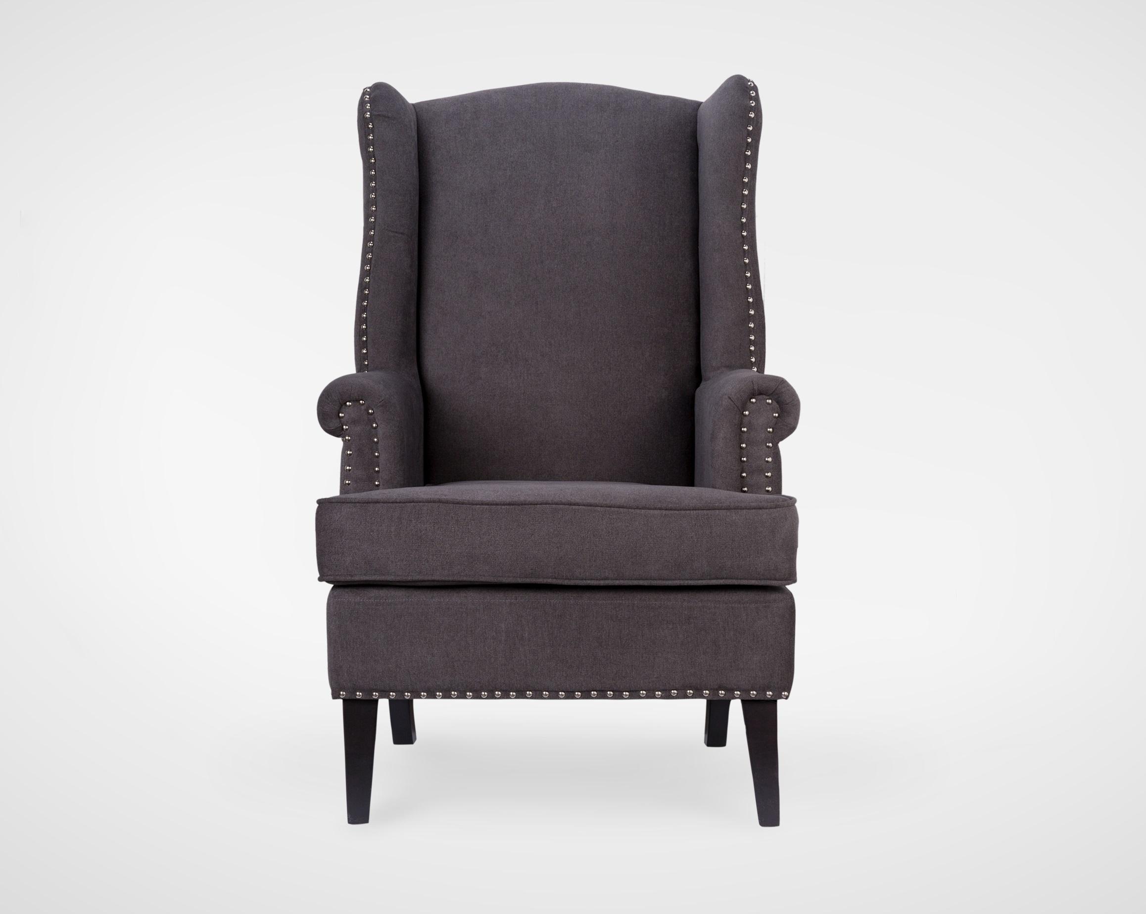 КреслоКресла с высокой спинкой<br>Классическое английское кресло с ушами,с высокой ,мягкой спинокй,украшенное молдингами,ножки из натурального дерева.<br><br>Material: Текстиль<br>Ширина см: 74<br>Высота см: 115<br>Глубина см: 80