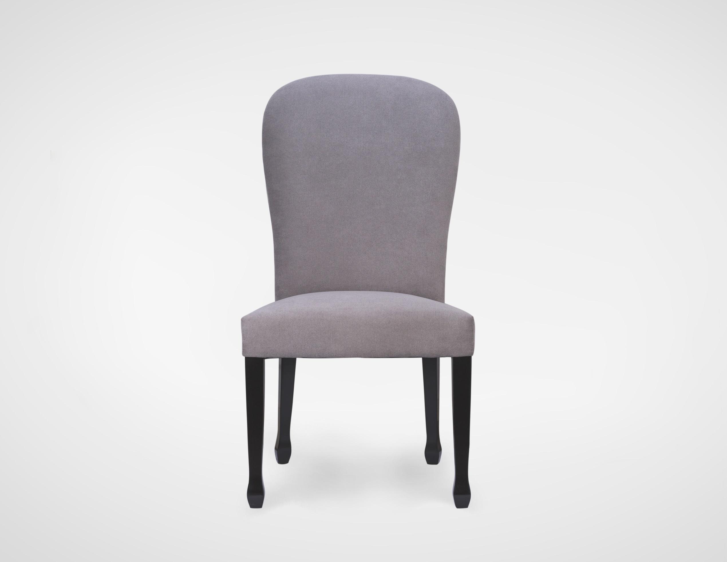 Стул обеденныйОбеденные стулья<br>Стул обеденный,с мягкой высокой спинкой,без подлокотников,с металиическим кольцом на спинке,ножки из натурального дерева.<br><br>Material: Текстиль<br>Ширина см: 64<br>Высота см: 68<br>Глубина см: 60
