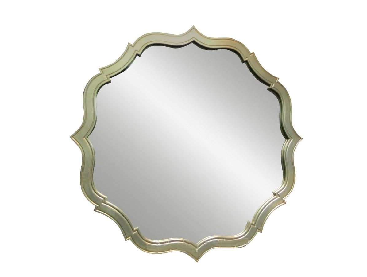 Зеркало  RiminiНастенные зеркала<br>Зеркало &amp;quot;Rimini&amp;quot; привносит в оформление спален, гостиных или кабинетов королевскую эстетику подлинного гламура. Оно добавляет пространству больше драматизма благодаря элегантной раме. Ее плавные изгибы создают неправильную окружность, которая покоряет благородством и утонченностью своего силуэта.&amp;lt;div&amp;gt;&amp;lt;br&amp;gt;&amp;lt;/div&amp;gt;&amp;lt;div&amp;gt;Варианты отделки рамы: черный или белый лак, сусальное серебро.&amp;lt;/div&amp;gt;<br><br>Material: Стекло
