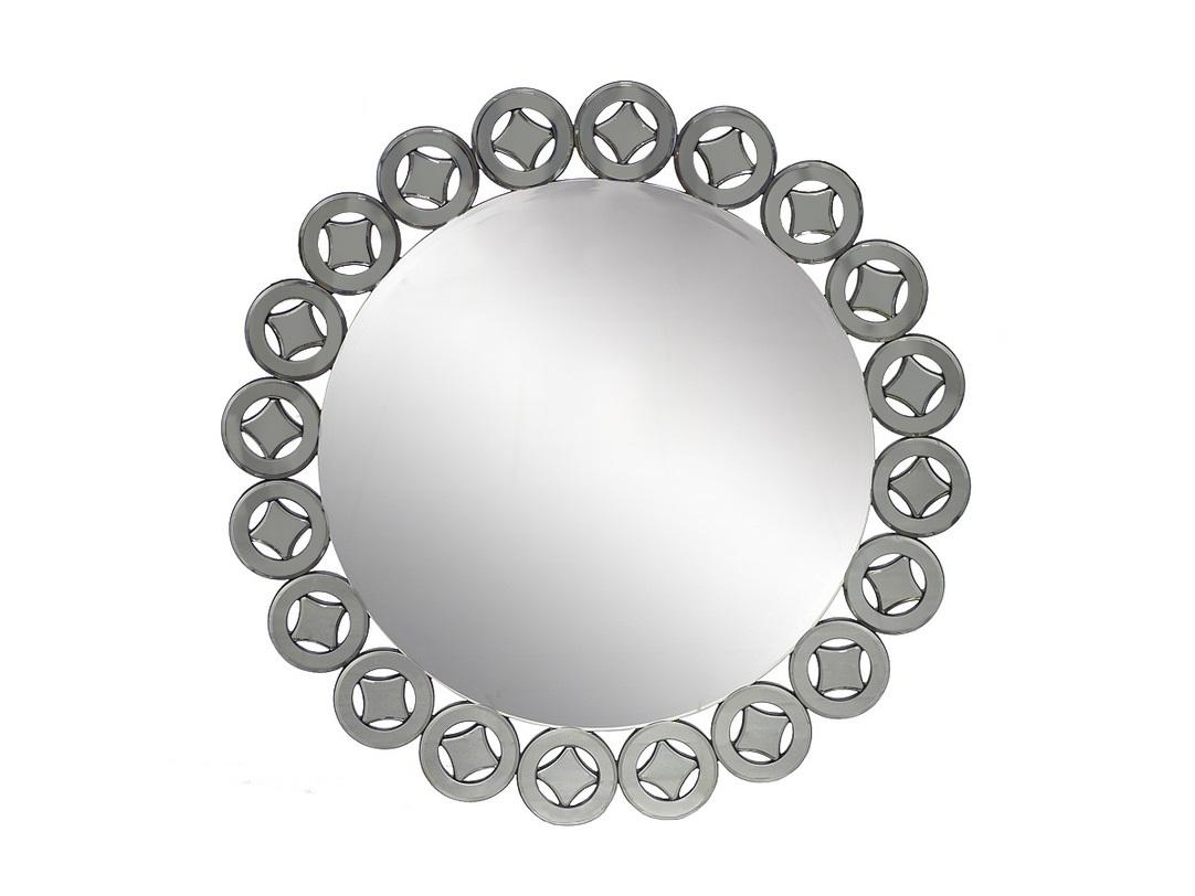 ЗеркалоНастенные зеркала<br>Зеркало от Garda Decor в ажурной металлической раме, напоминающей кружевную салфетку – яркий акцент, необычная дизайн-изюминка и в то же время аксессуар, который будет гармонировать с интерьером практически в любом стиле. Особенно удачно он поддержит четкую геометричную или, наоборот, нежно-романтичную тематику.<br><br>Material: Стекло