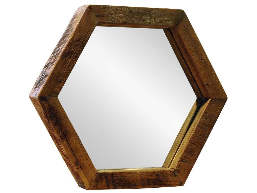 Зеркало SoulНастольные зеркала<br>Оригинальное зеркало в форме шестиугольника, рама из массива антикварного тика  с богатой текстурой, элегантно обрамляет и придает благородность. Комбинация из несколькох зеркал данной формы выглядит эффектно и необычно,<br><br>Material: Тик<br>Ширина см: 30<br>Высота см: 26<br>Глубина см: 3