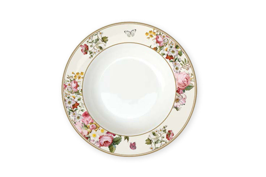 Тарелка суповая Цветочный карнавалТарелки<br><br><br>Material: Фарфор