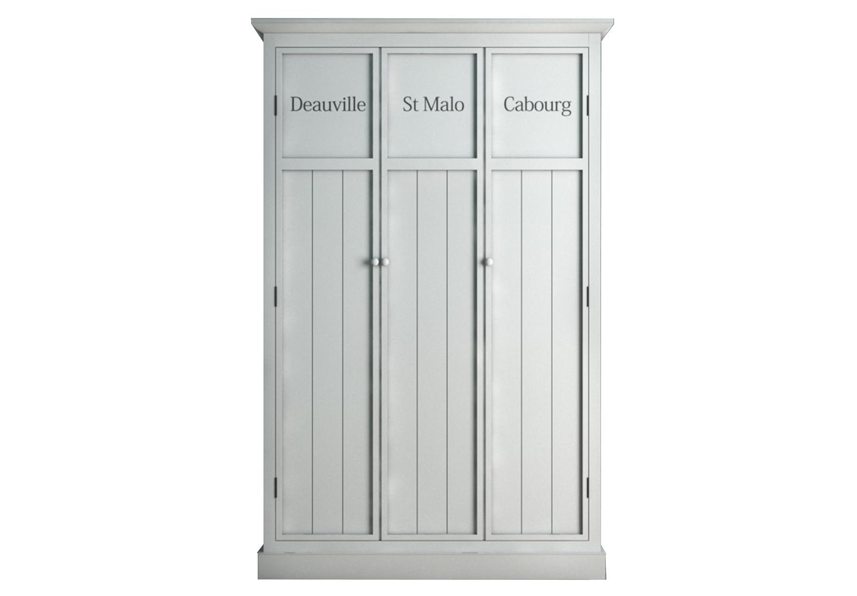 Шкаф трехстворчатый PalermoПлатяные шкафы<br>Материал: Массив березы, МДФ,<br><br>Material: Береза<br>Ширина см: 125.0<br>Высота см: 195.0<br>Глубина см: 61.0