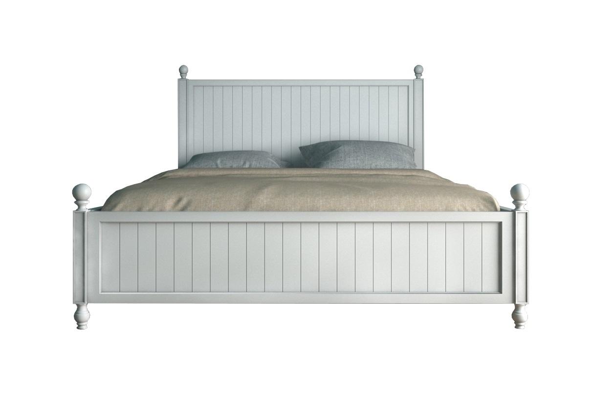 Кровать PalermoДеревянные кровати<br>Материал: Массив березы, МДФ<br><br>Material: Береза<br>Ширина см: 172.0<br>Высота см: 121.0<br>Глубина см: 213.0