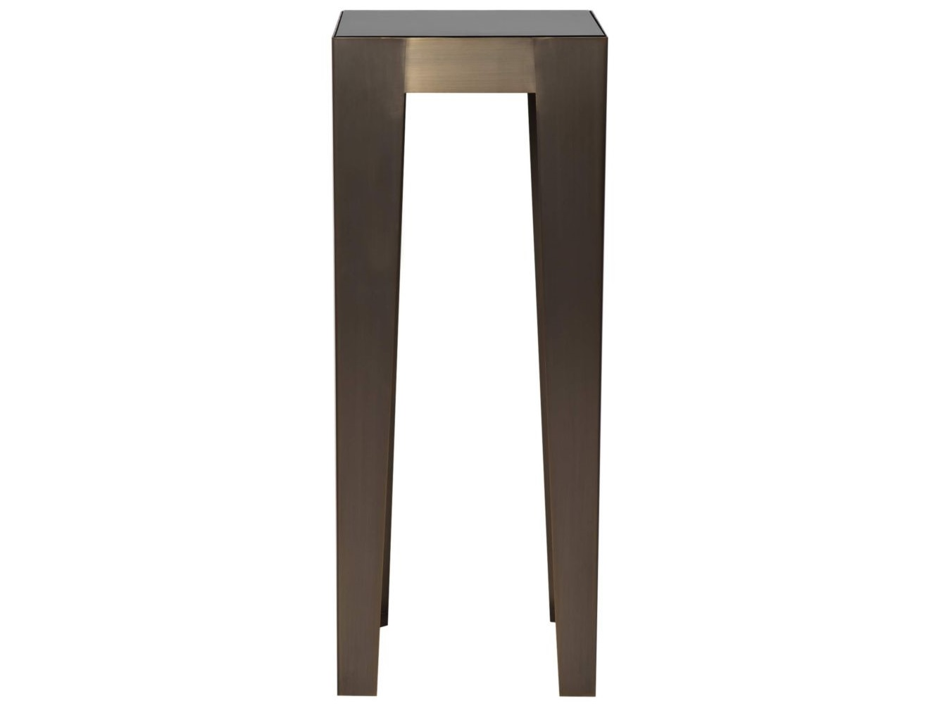 Консоль HermesНеглубокие консоли<br>Коллекция столов и столиков Hermes создана, чтобы воплотить самые смелые идеи в оформлении Вашего дома. Сияющие массивные ножки, поддерживающие стеклянную столешницу, «изрезанную» мраморными прожилками великолепно смотрятся в любой форме и размере. Узкий длинный или высокий квадратный постаменты для декора,  низкий  журнальный или квадратный кофейный столы – любая из этих роскошных деталей добавит в ваш интерьер шика и создаст неповторимый стиль.<br><br>Material: Металл<br>Ширина см: 40<br>Высота см: 100<br>Глубина см: 40