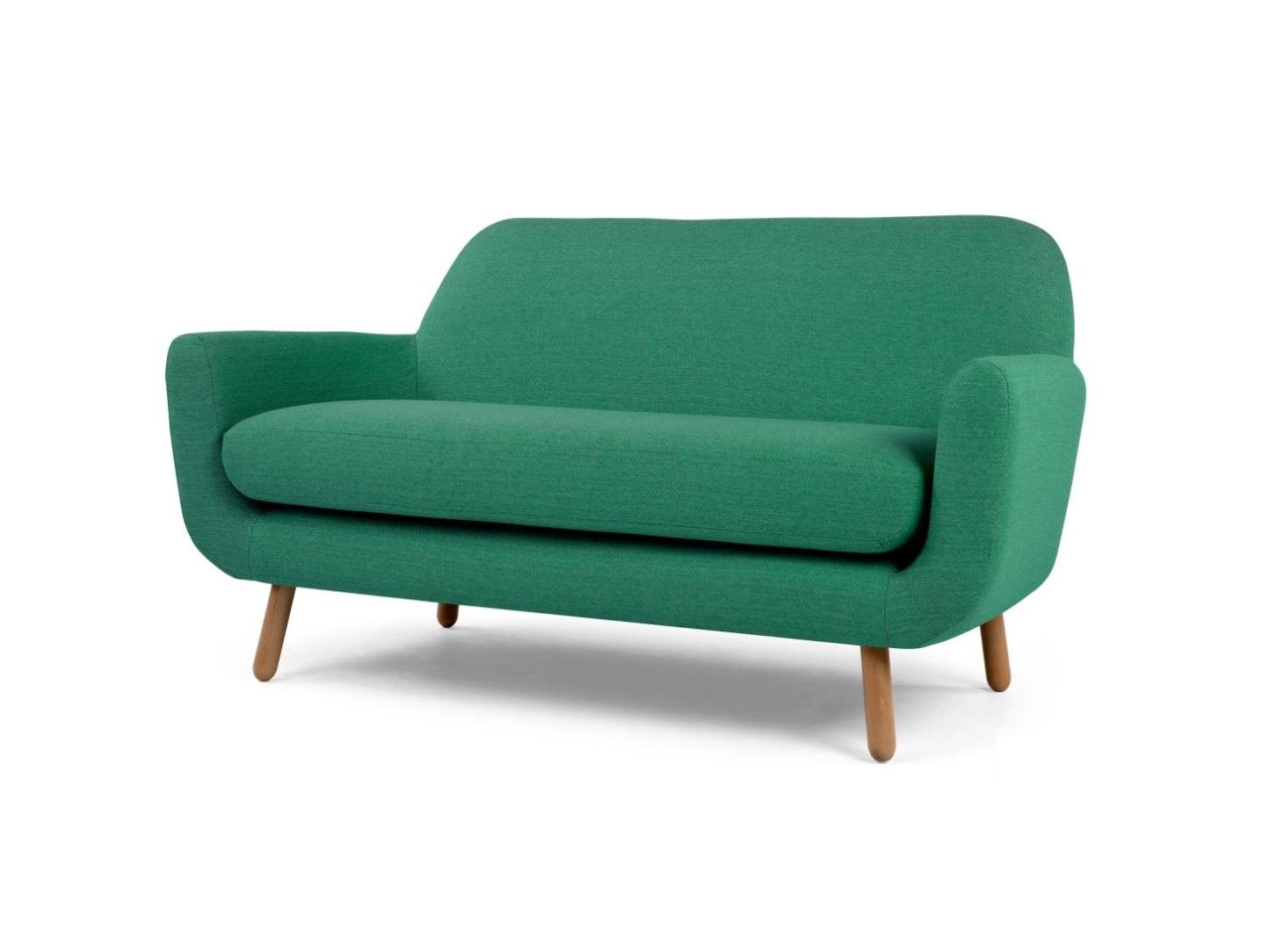 Диван CloverДвухместные диваны<br>&amp;lt;div&amp;gt;&amp;lt;div&amp;gt;Нам никогда не надоест сталкивать эпохи в дизайне. Современный стиль этого дивана с привкусом ретро не оставит вас равнодушным. Главным его&amp;amp;nbsp;&amp;lt;/div&amp;gt;&amp;lt;div&amp;gt;достоинством мы считаем необычайно удобную одинарную подушку. Нет, серьезно! В ней можно раствориться.&amp;lt;br&amp;gt;&amp;lt;/div&amp;gt;&amp;lt;/div&amp;gt;&amp;lt;div&amp;gt;&amp;lt;br&amp;gt;&amp;lt;/div&amp;gt;Высота сидения 50 см&amp;lt;div&amp;gt;Ножки лакированы&amp;lt;/div&amp;gt;<br><br>Material: Текстиль<br>Ширина см: 162.0<br>Высота см: 82.0<br>Глубина см: 89.0