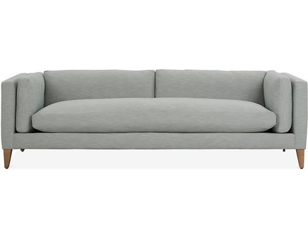 Диван franz (myfurnish) серый 244x76x97 см.