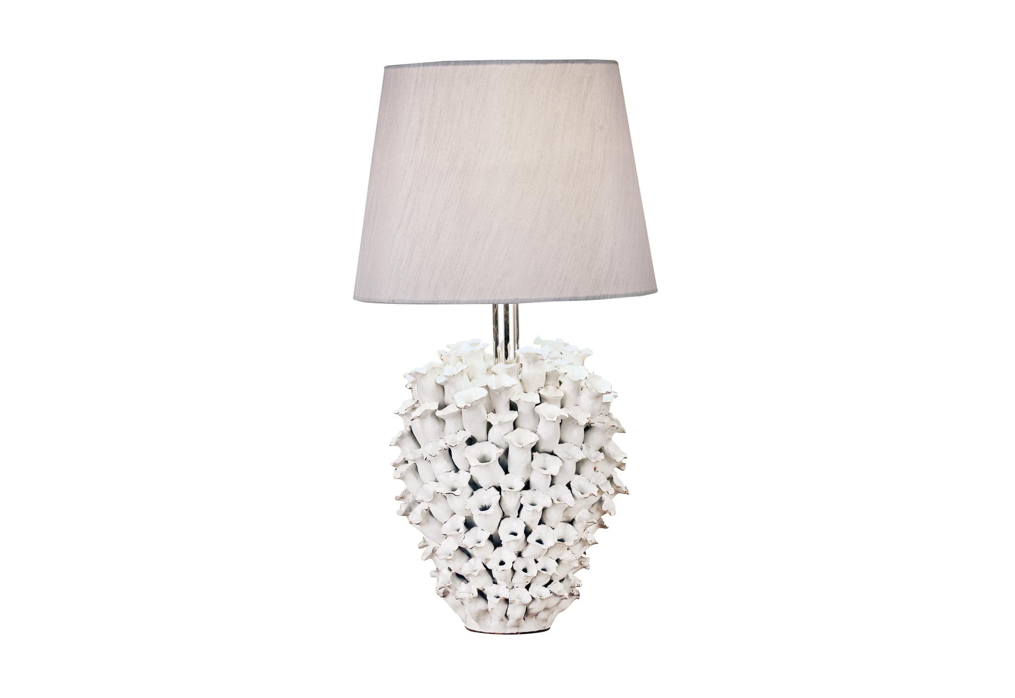 Светильник настольный AcerraДекоративные лампы<br>&amp;lt;div&amp;gt;Настольный светильник из фарфора белого цвета с тканевым абажуром бежевого цвета.&amp;lt;/div&amp;gt;&amp;lt;div&amp;gt;&amp;lt;br&amp;gt;&amp;lt;/div&amp;gt;&amp;lt;div&amp;gt;Вид цоколя: E27&amp;lt;/div&amp;gt;&amp;lt;div&amp;gt;Мощность: 60W&amp;lt;/div&amp;gt;&amp;lt;div&amp;gt;Количество ламп: 1 (нет в комплекте)&amp;lt;/div&amp;gt;<br><br>Material: Фарфор<br>Высота см: 55.0