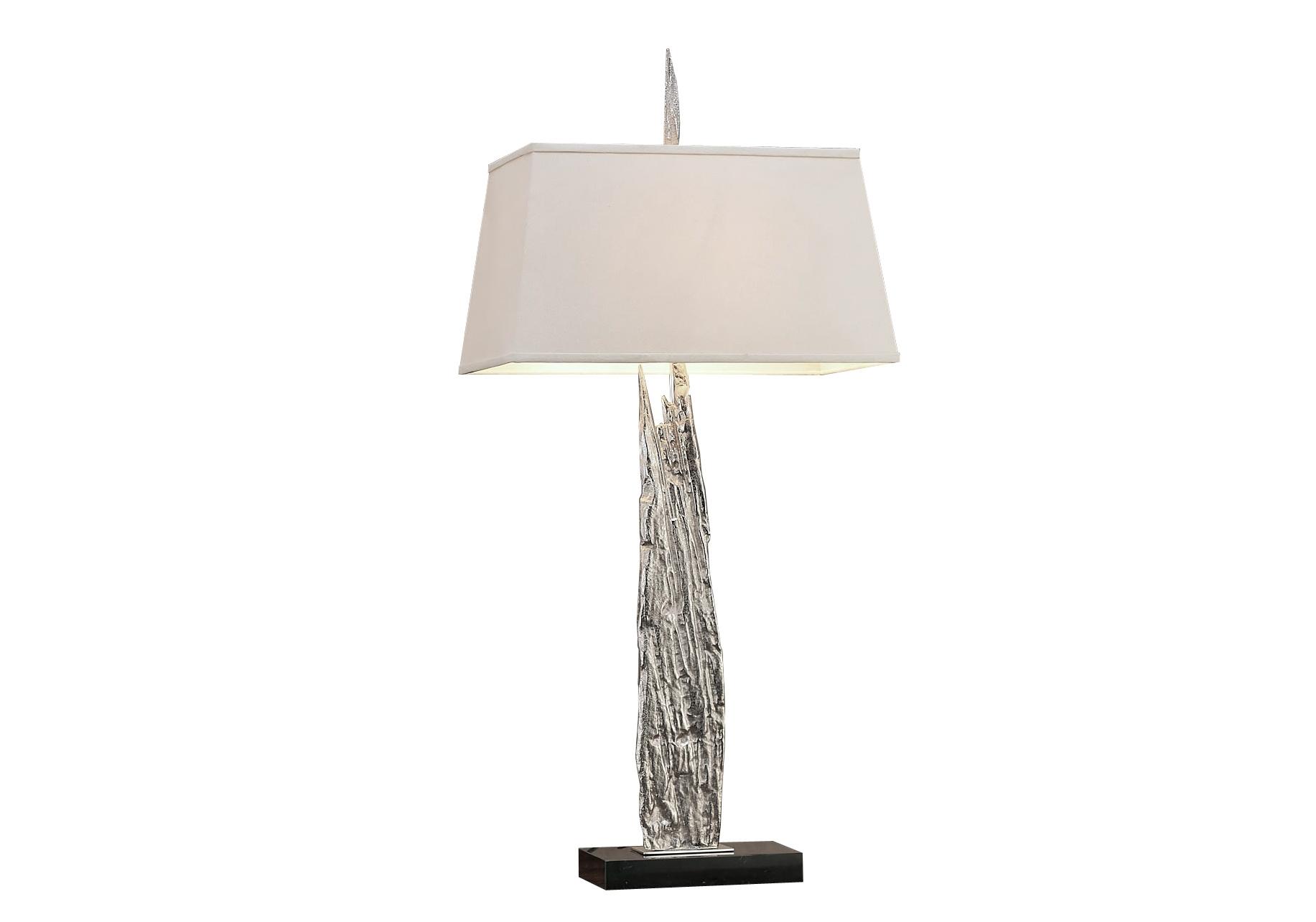 Светильник настольный AstiДекоративные лампы<br>&amp;lt;div&amp;gt;Настольная лампа серебристого цвета, с тканевым абажуром молочного цвета и на подставке из натурального мрамора. В любом интерьере она будет стильным элементом декора.&amp;lt;/div&amp;gt;&amp;lt;div&amp;gt;&amp;lt;br&amp;gt;&amp;lt;/div&amp;gt;&amp;lt;div&amp;gt;Вид цоколя: E27&amp;lt;/div&amp;gt;&amp;lt;div&amp;gt;Мощность: 60W&amp;lt;/div&amp;gt;&amp;lt;div&amp;gt;Количество ламп: 1 (нет в комплекте)&amp;lt;/div&amp;gt;&amp;lt;div&amp;gt;Материал: цинковый сплав&amp;lt;br&amp;gt;&amp;lt;/div&amp;gt;<br><br>Material: Металл<br>Ширина см: 48<br>Высота см: 64<br>Глубина см: 26