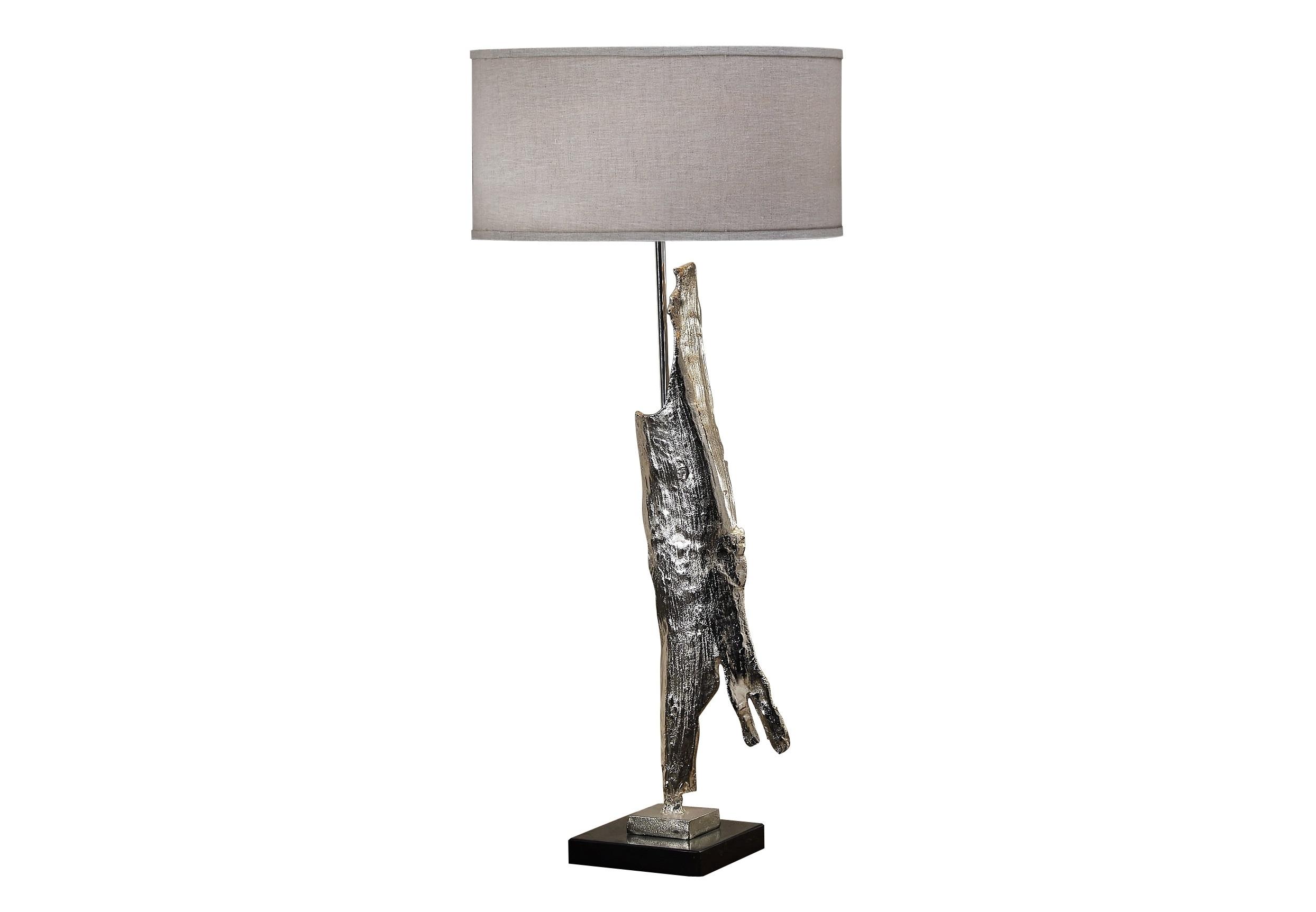 Светильник настольный PaviaДекоративные лампы<br>&amp;lt;div&amp;gt;Настольная лампа серебристого цвета, с тканевым абажуром бежевого цвета и на подставке из натурального мрамора. В любом интерьере она будет стильным элементом декора.&amp;lt;/div&amp;gt;&amp;lt;div&amp;gt;&amp;lt;br&amp;gt;&amp;lt;/div&amp;gt;&amp;lt;div&amp;gt;Вид цоколя: E27&amp;lt;/div&amp;gt;&amp;lt;div&amp;gt;Мощность: 60W&amp;lt;/div&amp;gt;&amp;lt;div&amp;gt;Количество ламп: 1 (нет в комплекте)&amp;lt;/div&amp;gt;&amp;lt;div&amp;gt;Материал: цинковый сплав&amp;lt;/div&amp;gt;<br><br>Material: Металл<br>Высота см: 99.0