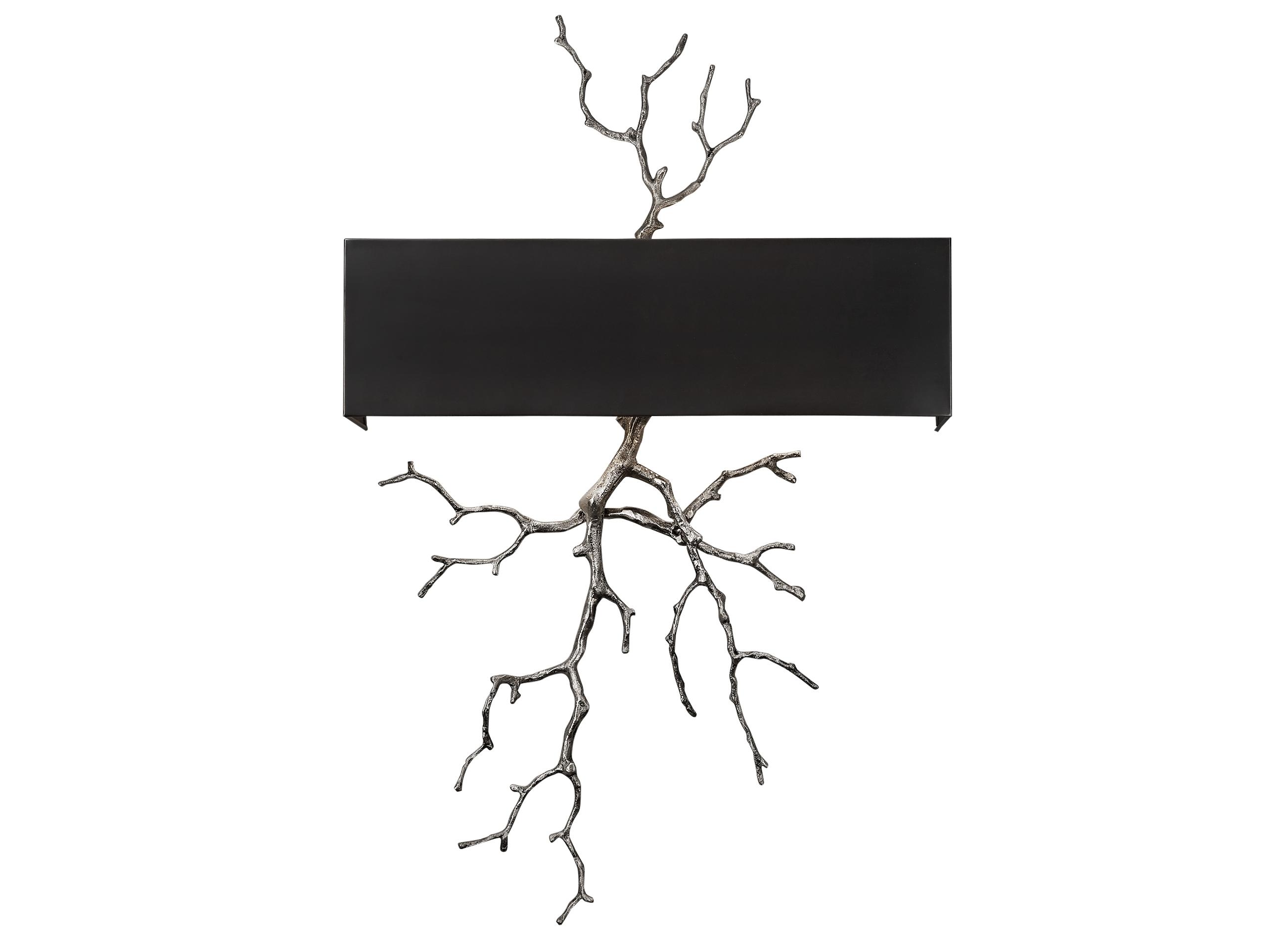 Светильник настенный PescaraБра<br>&amp;lt;div&amp;gt;Элегантное настенное бра серебристого цвета с черным металлическим абажуром. Хорошо подойдет для современного интерьера, оформленного в винтажном, эко, ар-деко, фьюжн, минимализм и лофт стилях. В любом интерьере оно будет ярким и стильным элементом декора.&amp;lt;/div&amp;gt;&amp;lt;div&amp;gt;&amp;lt;br&amp;gt;&amp;lt;/div&amp;gt;&amp;lt;div&amp;gt;Вид цоколя: E14&amp;lt;/div&amp;gt;&amp;lt;div&amp;gt;Мощность: 40W&amp;lt;/div&amp;gt;&amp;lt;div&amp;gt;Количество ламп: 2 (нет в комплекте)&amp;lt;/div&amp;gt;<br><br>Material: Алюминий<br>Ширина см: 54<br>Высота см: 85<br>Глубина см: 12