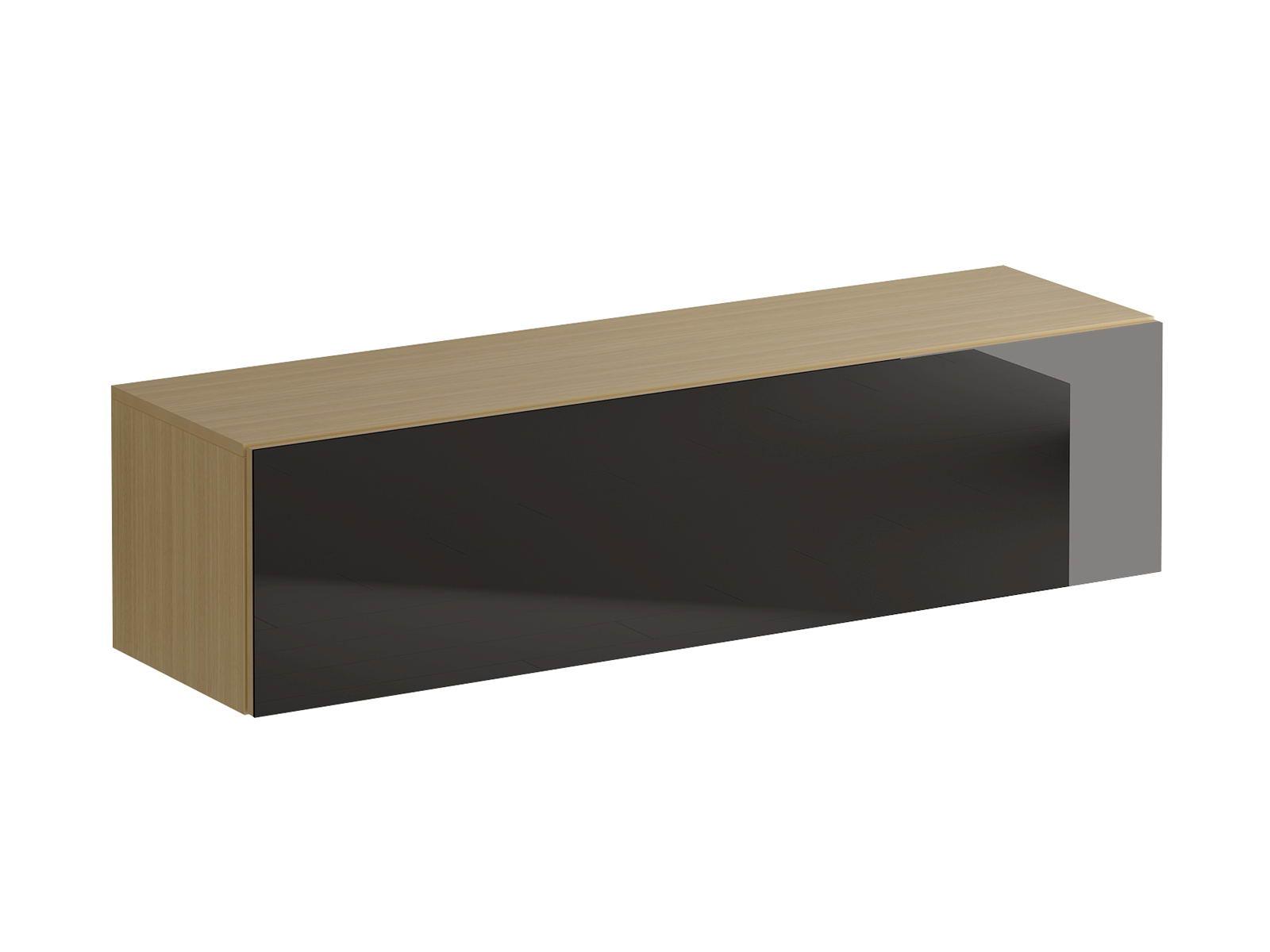 Шкаф для одежды GustoПолки<br>&amp;lt;div&amp;gt;Шкаф имеет два отделения, образованные вертикальной перегородкой. Подъемная дверь открывается по принципу «нажал-открыл». Задняя стенка белого цвета.&amp;lt;/div&amp;gt;&amp;lt;div&amp;gt;&amp;lt;br&amp;gt;&amp;lt;/div&amp;gt;&amp;lt;div&amp;gt;Материалы:&amp;lt;/div&amp;gt;&amp;lt;div&amp;gt;Корпус и фасад: ЛДСП 16 мм.&amp;lt;/div&amp;gt;&amp;lt;div&amp;gt;Задняя стенка: ДВПО 3 мм.&amp;lt;/div&amp;gt;&amp;lt;div&amp;gt;Стекло на фасадах: полированное толщиной 4мм, окрашенное эмалью.&amp;lt;/div&amp;gt;<br><br>Material: ДСП<br>Ширина см: 136<br>Высота см: 34<br>Глубина см: 38