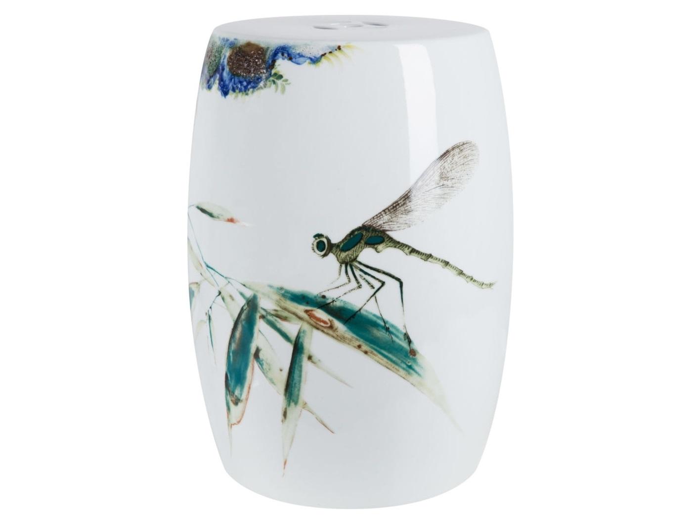 Табурет DragonflyТабуреты<br><br><br>Material: Керамика<br>Ширина см: 33.0<br>Высота см: 46.0<br>Глубина см: 49.0