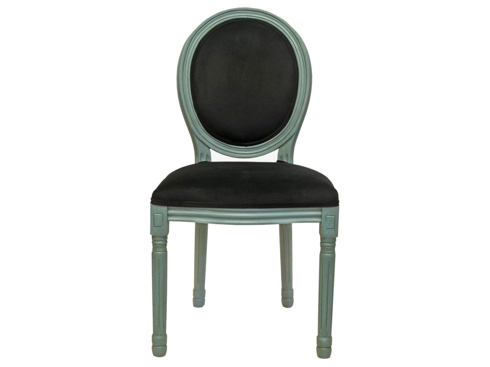 Стул VolkerОбеденные стулья<br>Cтул Volker с округлой спинкой напоминающей медальон, выполнен в элегантном классическом французском стиле. Основание модели выполнено из цельной породы древесины - массив каучукового дерева, выкрашенного в зеленовато голубой цвет, искуственно состаренного. Такой стул эффектно смотрится как в контрастной, так и в однотонной обстановке.&amp;amp;nbsp;&amp;lt;div&amp;gt;&amp;lt;br&amp;gt;&amp;lt;/div&amp;gt;&amp;lt;div&amp;gt;Материал Велюр, Каучуковое дерево&amp;lt;/div&amp;gt;<br><br>Material: Дерево<br>Ширина см: 50<br>Высота см: 100<br>Глубина см: 54
