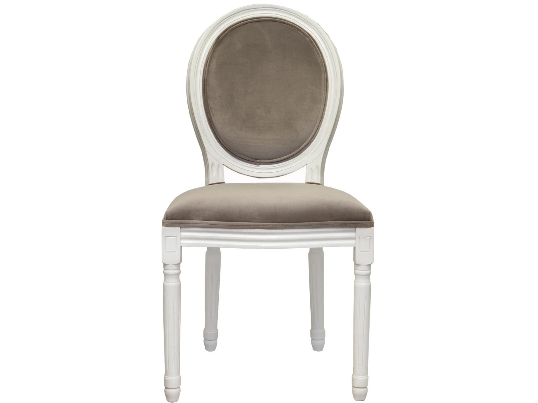 Стул VolkerОбеденные стулья<br>Cтул Volker с округлой спинкой напоминающей медальон, выполнен в элегантном классическом французском стиле. Основание модели выполнено из цельной породы древесины - массив каучукового дерева, выкрашенного в белый цвет. Такой стул эффектно смотрится как в контрастной, так и в однотонной обстановке.&amp;amp;nbsp;&amp;lt;div&amp;gt;&amp;lt;br&amp;gt;&amp;lt;/div&amp;gt;&amp;lt;div&amp;gt;Материал Велюр, Каучуковое дерево&amp;lt;br&amp;gt;&amp;lt;/div&amp;gt;<br><br>Material: Дерево<br>Ширина см: 50<br>Высота см: 100<br>Глубина см: 54