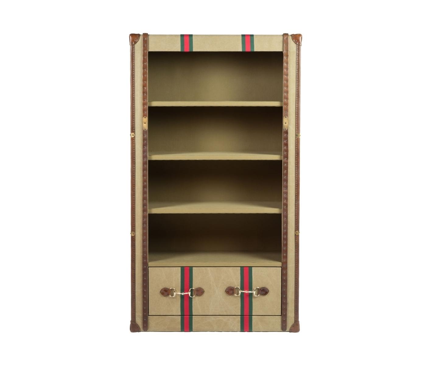 Шкаф книжный GroverКнижные шкафы и библиотеки<br>&amp;lt;div&amp;gt;Вместительная книжная полка-стеллаж с отделкой из кожи от бренда MHLIVING. Книжные полки чрезвычайно полезный предмет интерьера, которым поможет Вам в оформлении домашней или офисной библиотеки.&amp;lt;/div&amp;gt;&amp;lt;div&amp;gt;&amp;lt;br&amp;gt;&amp;lt;/div&amp;gt;&amp;lt;div&amp;gt;Материал: Кожа/ткань&amp;lt;/div&amp;gt;<br><br>Material: Кожа<br>Ширина см: 114.0<br>Высота см: 201.0<br>Глубина см: 45.0