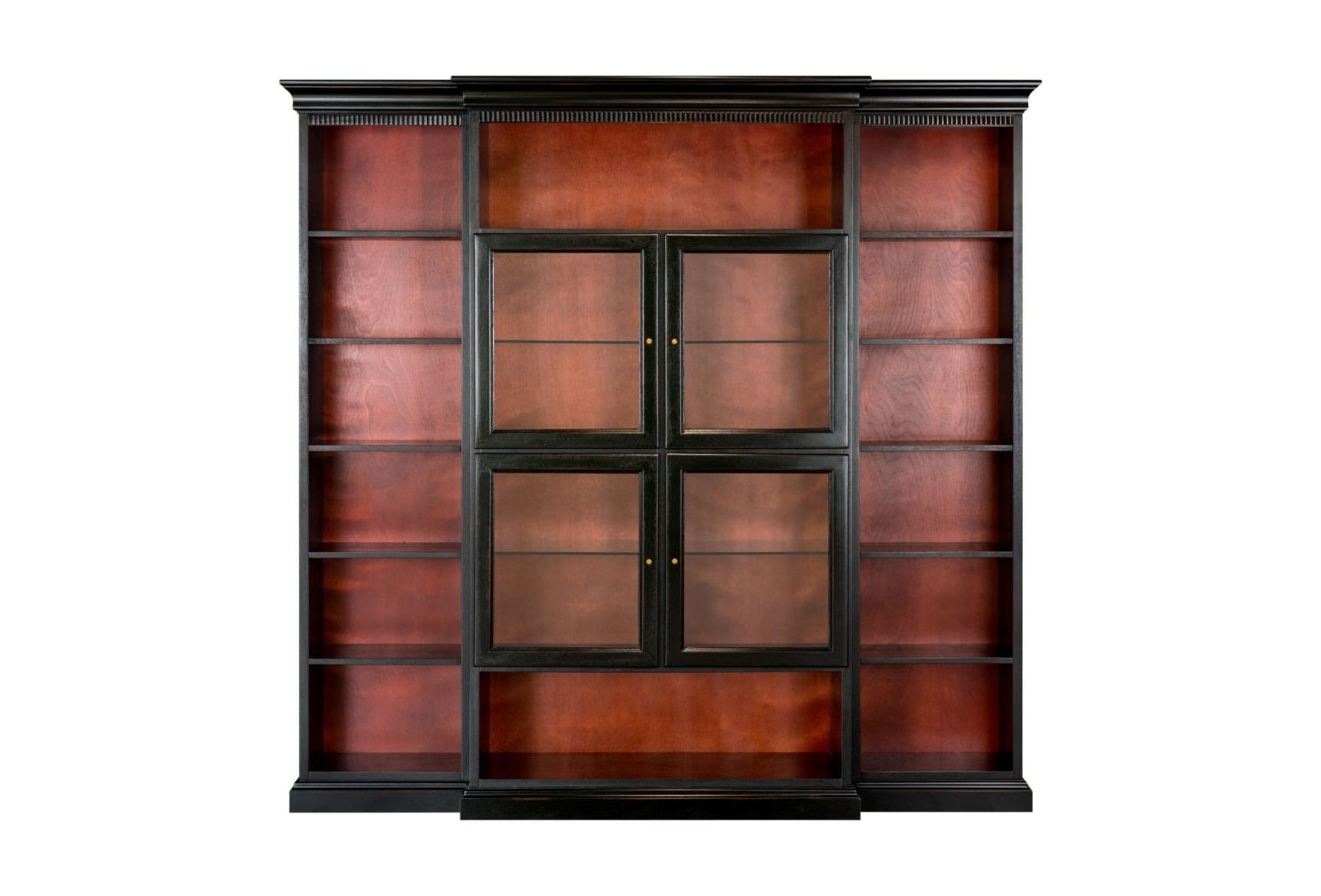 Шкаф книжный StanleyКнижные шкафы и библиотеки<br><br><br>Material: Дерево<br>Ширина см: 232.0<br>Высота см: 225.0<br>Глубина см: 45.0