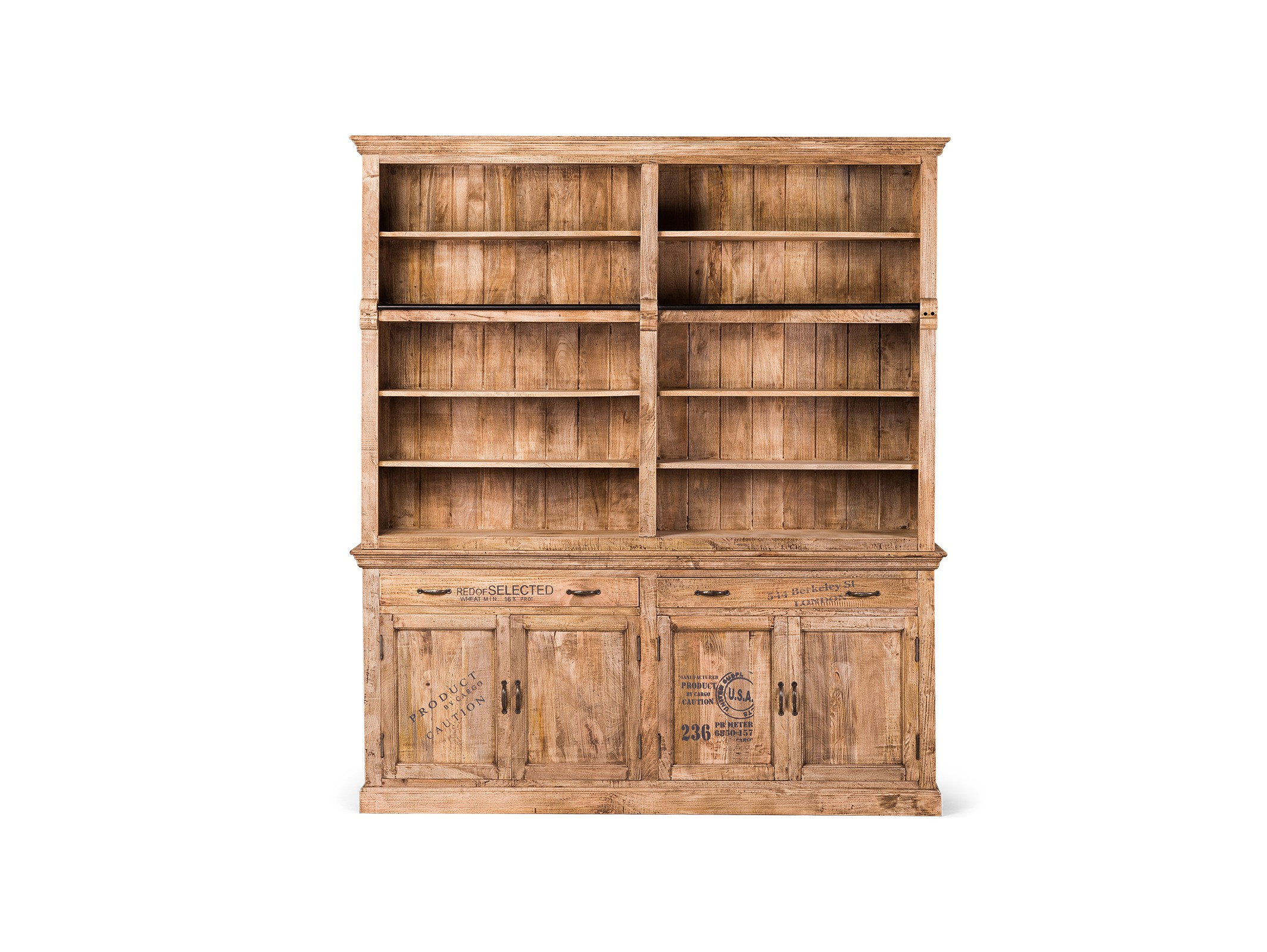 Библиотека RoomyКнижные шкафы и библиотеки<br><br><br>Material: Манго<br>Ширина см: 200<br>Высота см: 230<br>Глубина см: 42