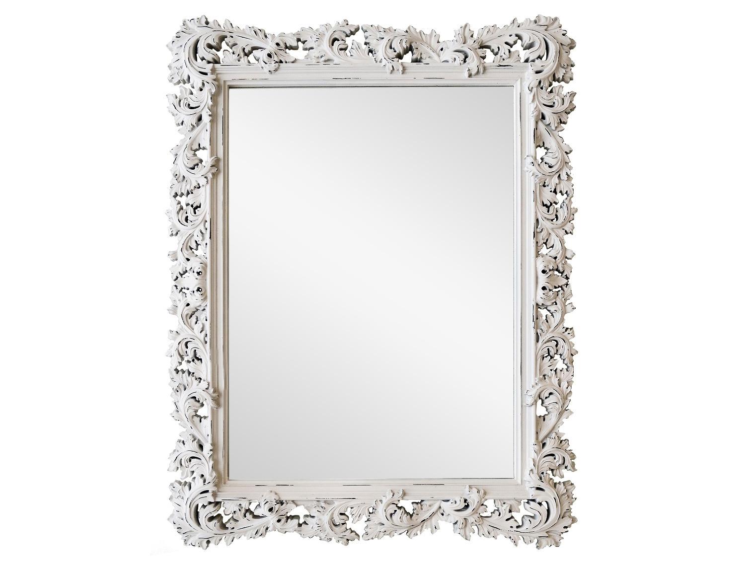 Роскошное зеркало Прованс в резной рамеНастенные зеркала<br>&amp;lt;div&amp;gt;Зеркало в красивой раме в стиле шебби-шик ? эта сама нежность! Легкая, как воздушный крем, резьба окрашена в белый цвет с винтажной ноткой. Обрамление изготовлено из мебельного пенополиуретана. Этот материал очень крепкий и совсем не боится влаги, поэтому зеркало можно поставить на туалетный столик или повесить в ванной. И ППУ, и лакокрасочное покрытие экологичны, не содержат опасных примесей и совершенно безопасны для людей.&amp;lt;/div&amp;gt;&amp;lt;div&amp;gt;&amp;lt;br&amp;gt;&amp;lt;/div&amp;gt;&amp;lt;div&amp;gt;Цвет: Белый Шебби-шик&amp;lt;br&amp;gt;&amp;lt;/div&amp;gt;<br><br>Material: Полиуретан<br>Ширина см: 88<br>Высота см: 115<br>Глубина см: 4