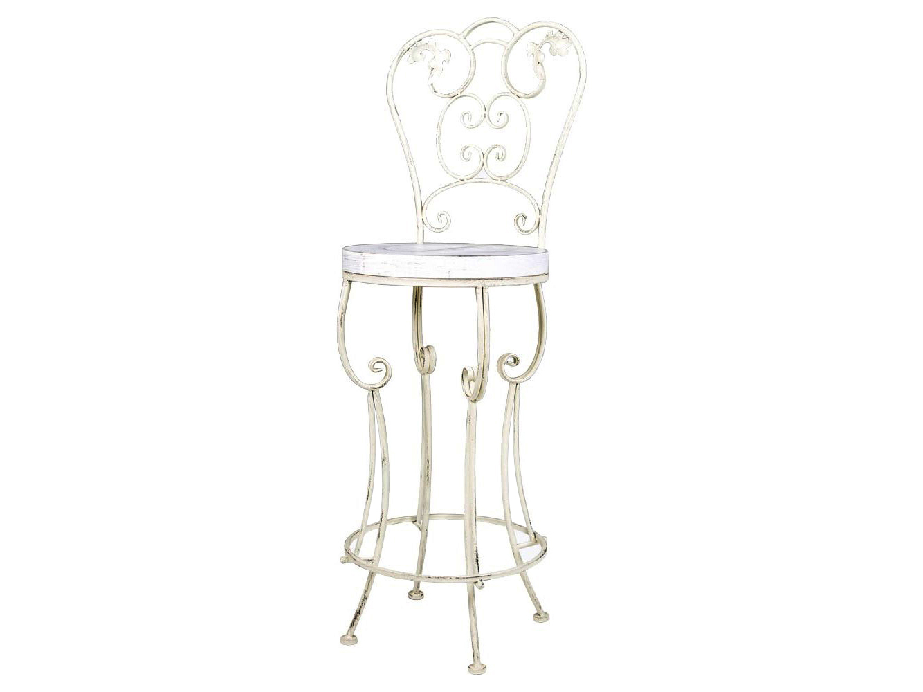 Барный стул БолероБарные стулья<br>Барный стул &amp;quot;Болеро&amp;quot;, виртуозно объединивший пышный узор классицизма с сиденьем &amp;quot;хай-тек&amp;quot;, равноправен среди любых интерьерных жанров, ценящих оригинальность и стиль. Он обогатит Ваш интерьер авангардным стилем и дополнительным гостевым удобством. Барный стул «Болеро» имеет элегантную стройную форму. Оснащенный ярусной опорой для ног, он весьма уместен в кабинете и столовой, на веранде и в детской комнате. Непременным условием барного стула является декоративный дизайн. Изготовленный из металла, стул прочен, неприхотлив в уходе.<br><br>&amp;lt;div&amp;gt;&amp;lt;br&amp;gt;&amp;lt;/div&amp;gt;&amp;lt;iframe width=&amp;quot;530&amp;quot; height=&amp;quot;315&amp;quot; src=&amp;quot;https://www.youtube.com/embed/CPT6ERkaX1Y&amp;quot; frameborder=&amp;quot;0&amp;quot; allowfullscreen=&amp;quot;&amp;quot;&amp;gt;&amp;lt;/iframe&amp;gt;<br><br>Material: Металл<br>Ширина см: 40.0<br>Высота см: 120.0<br>Глубина см: 40.0